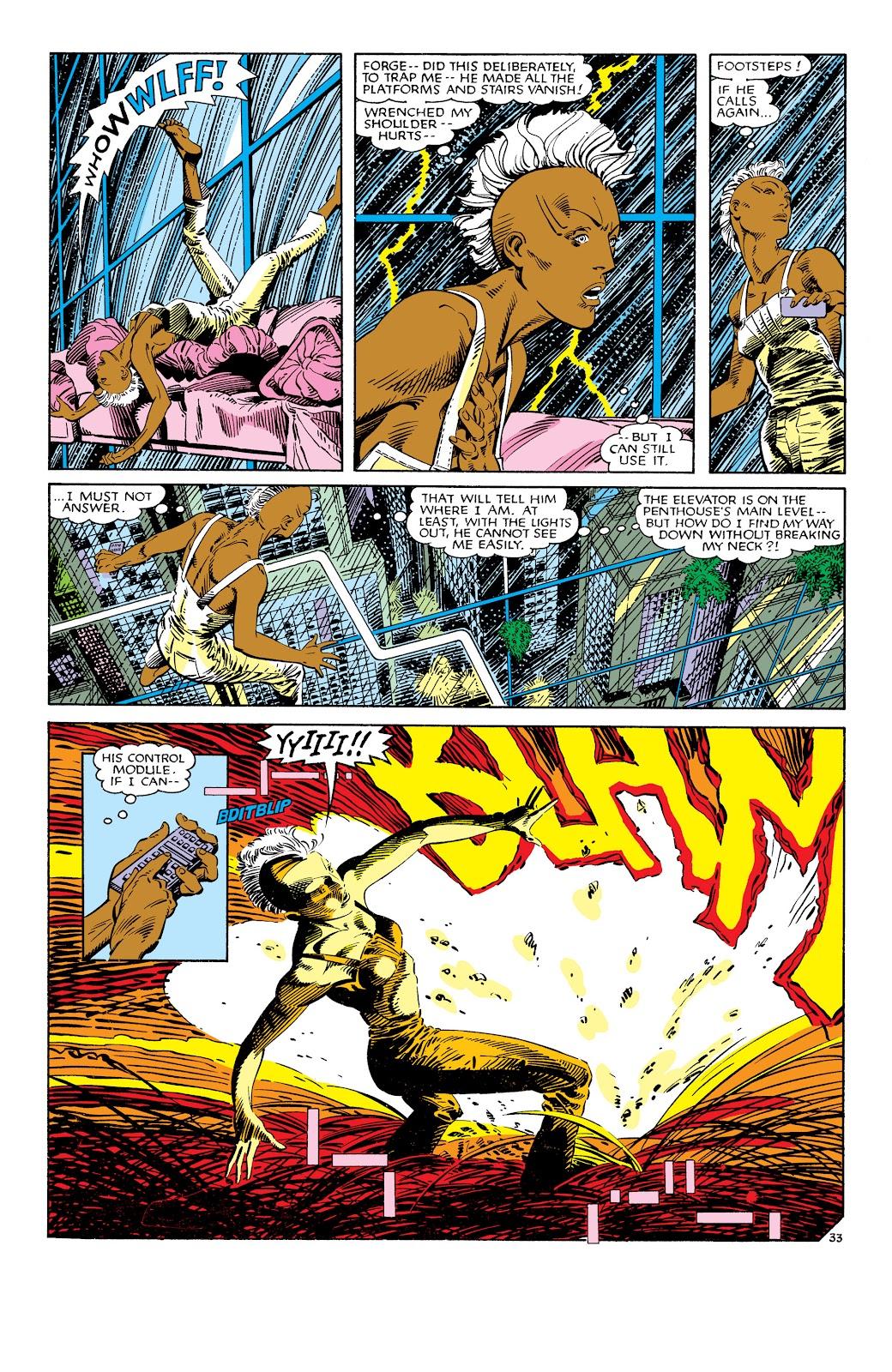 Uncanny X-Men (1963) issue 186 - Page 34