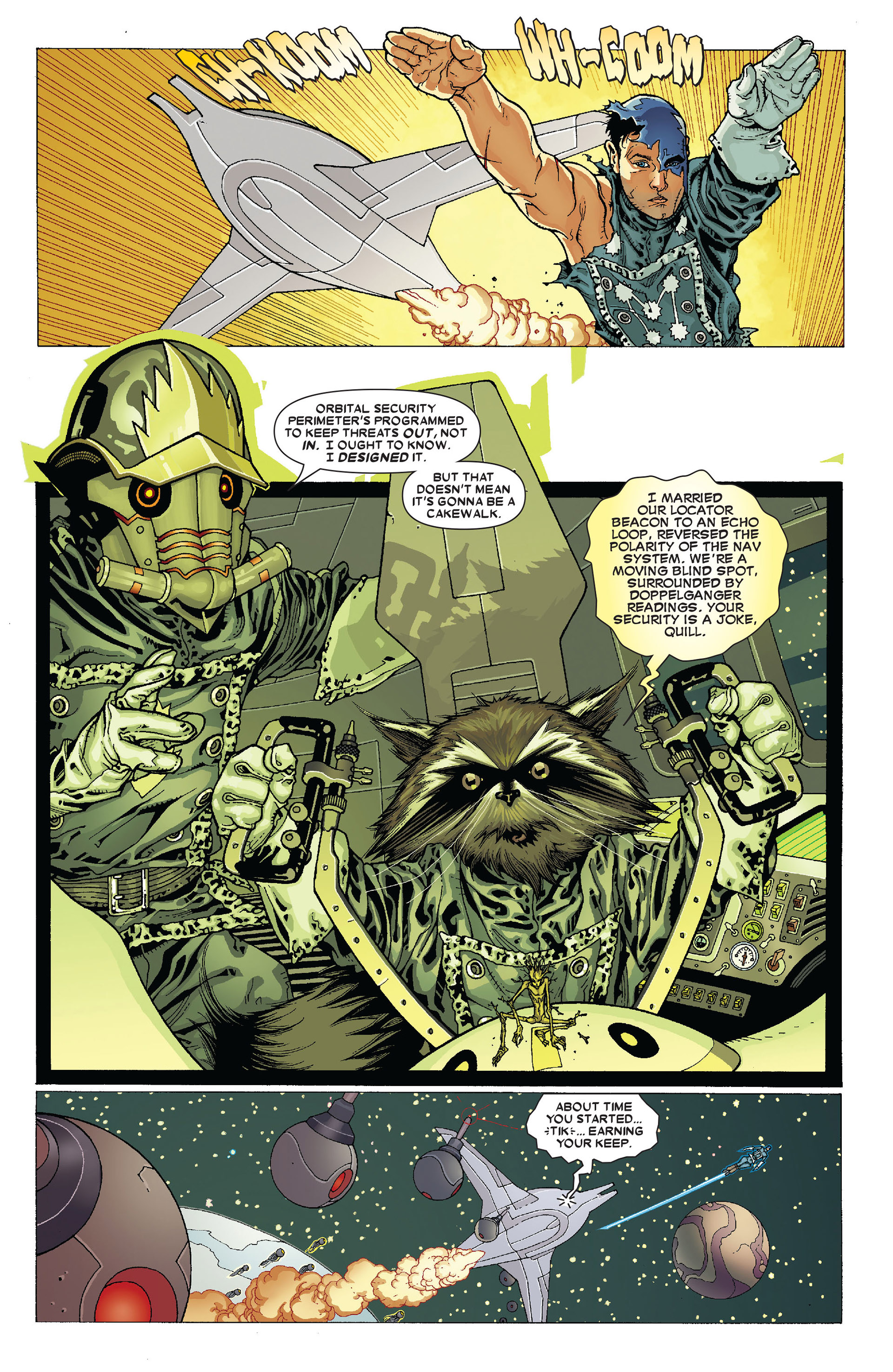 Read online Annihilation: Conquest - Starlord comic -  Issue #4 - 18