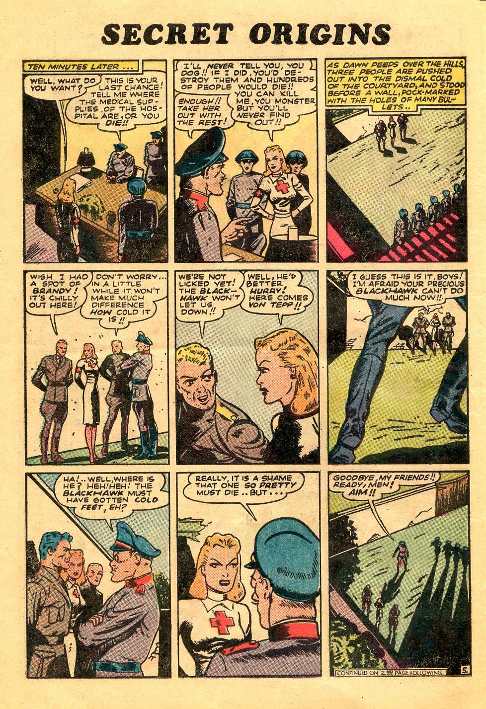 Read online Secret Origins (1973) comic -  Issue #6 - 22