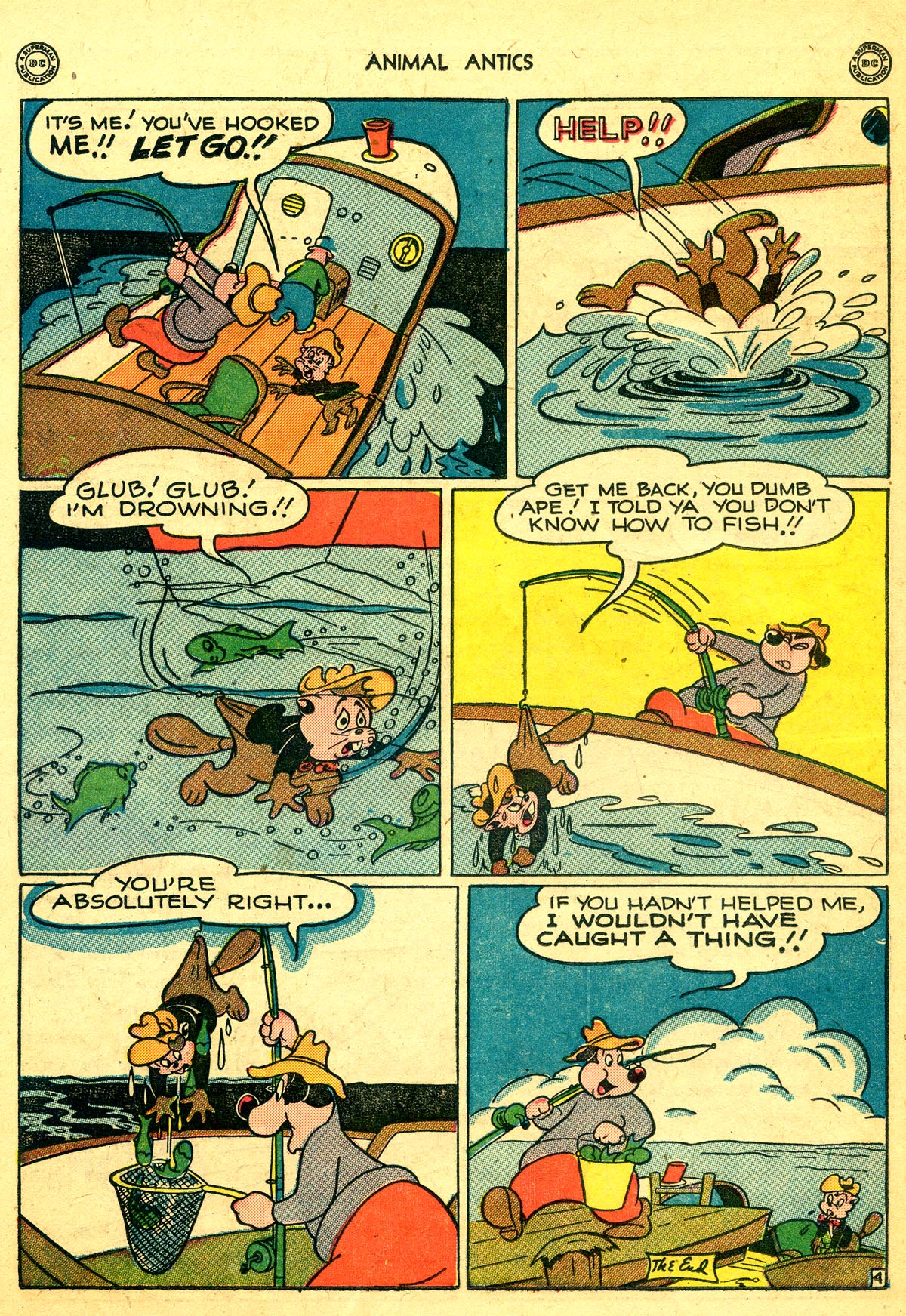 Read online Animal Antics comic -  Issue #8 - 38