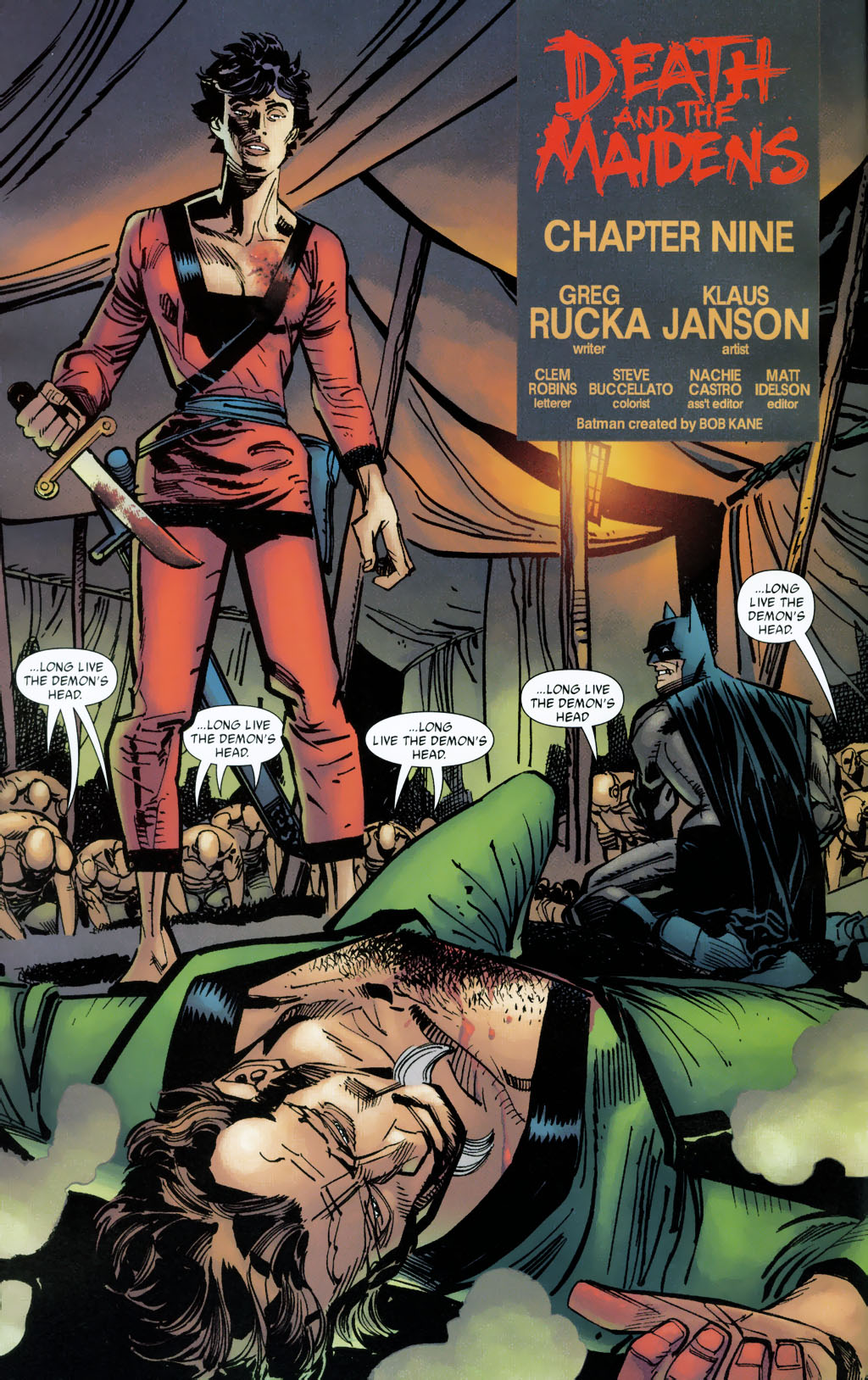Read online Batman: Death and the Maidens comic -  Issue #9 - 5