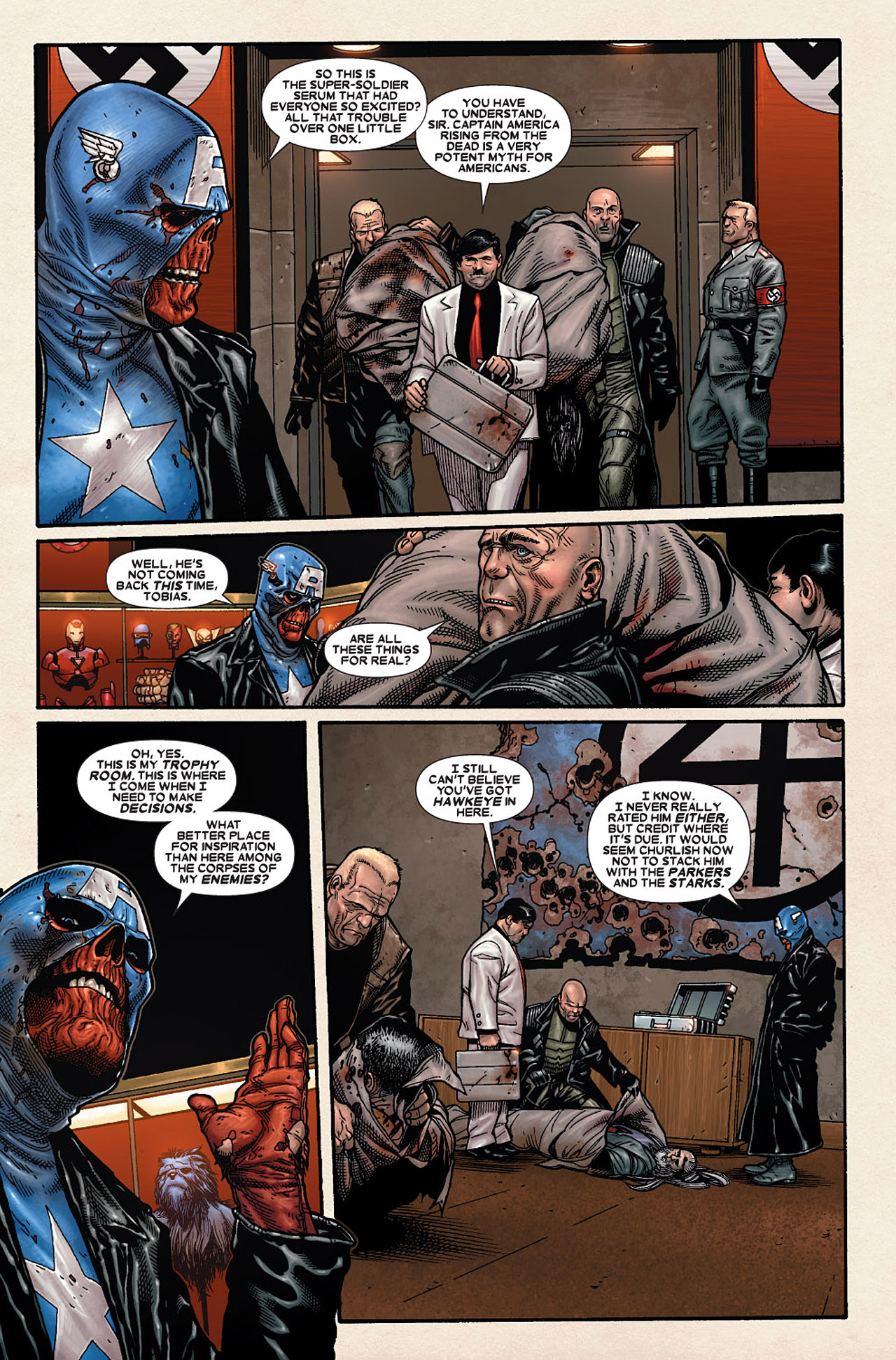 Read online Wolverine: Old Man Logan comic -  Issue # Full - 144