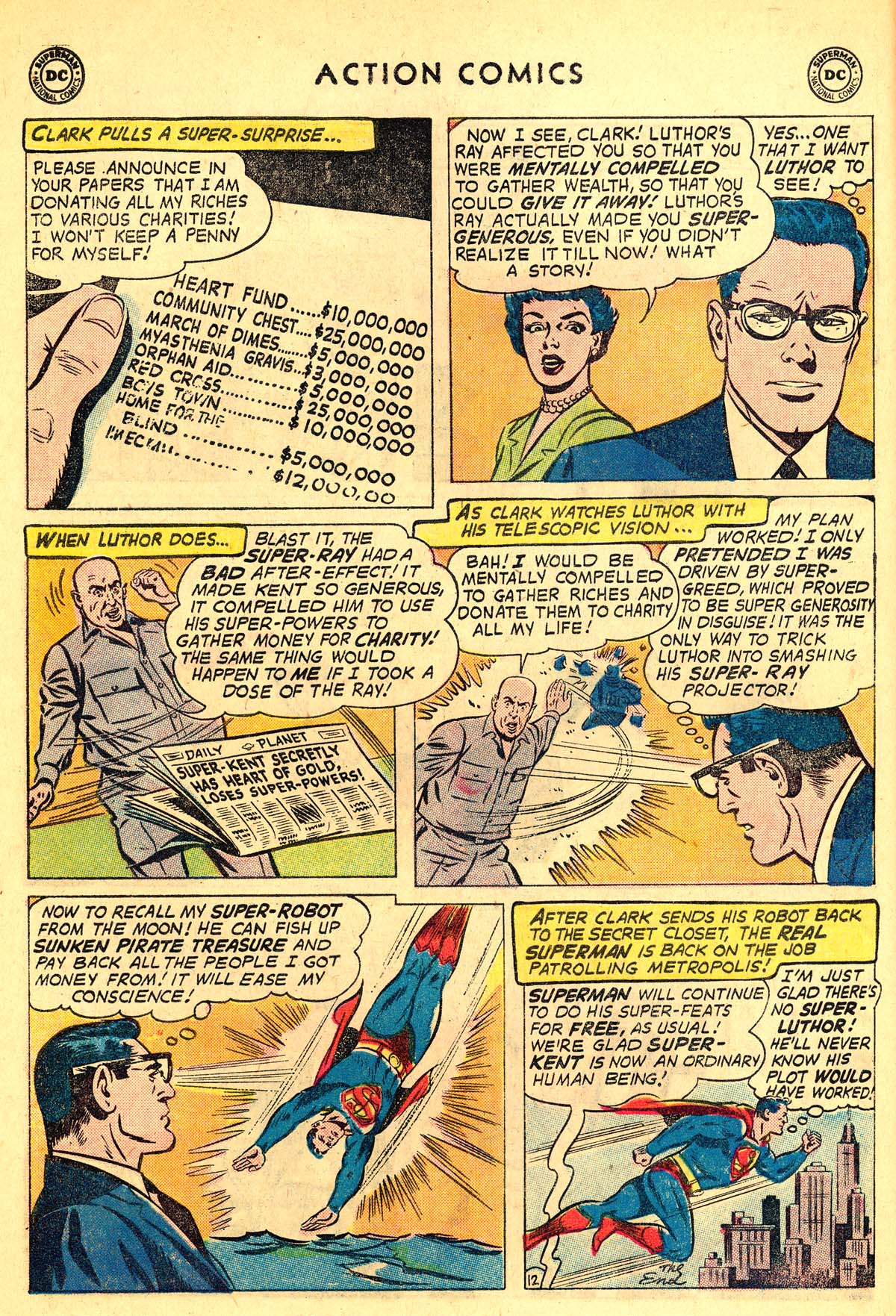 Read online Action Comics (1938) comic -  Issue #257 - 14