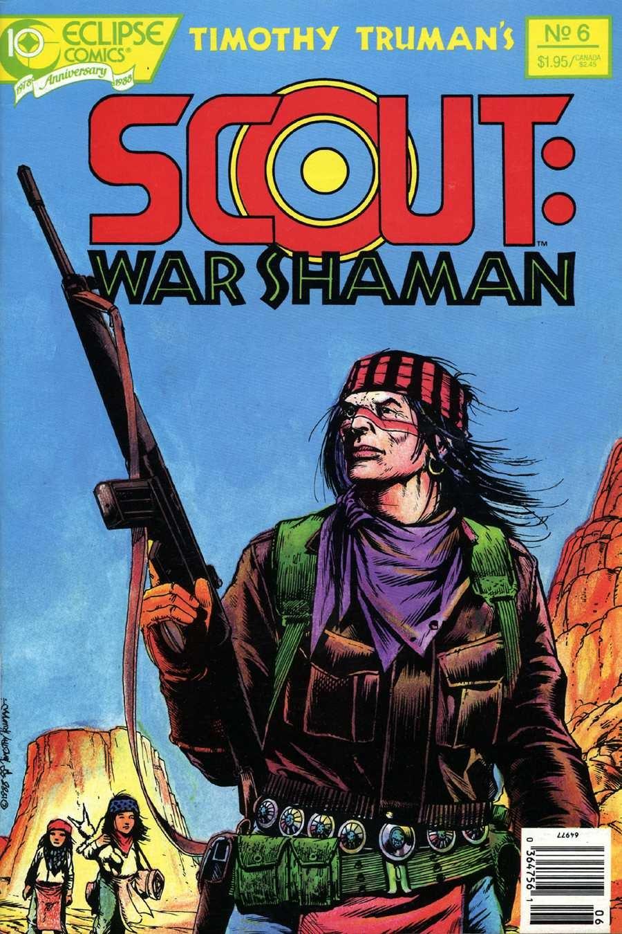 Scout: War Shaman 6 Page 1