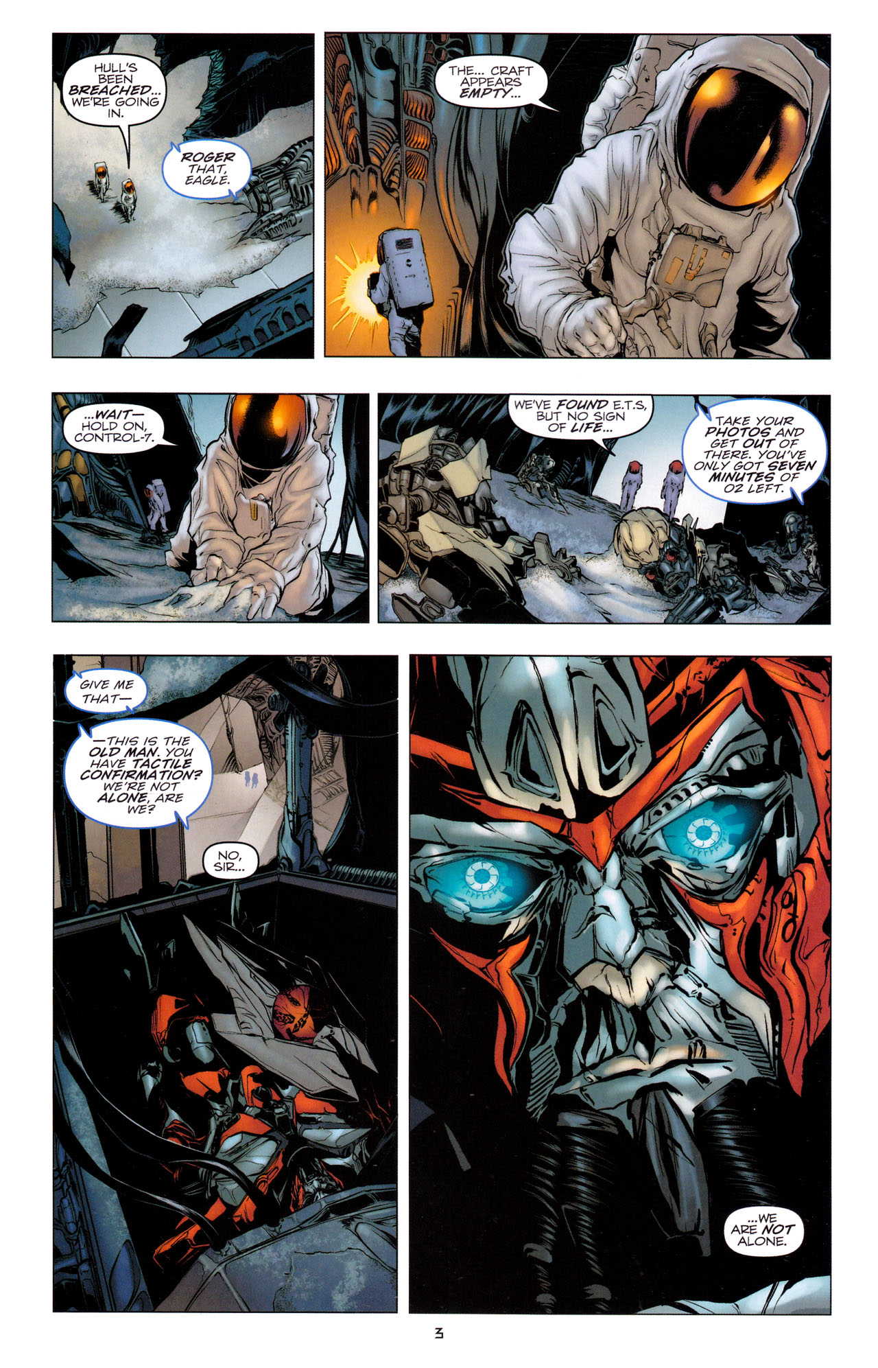Read online Transformers: Dark of the Moon Movie Adaptation comic -  Issue #1 - 5