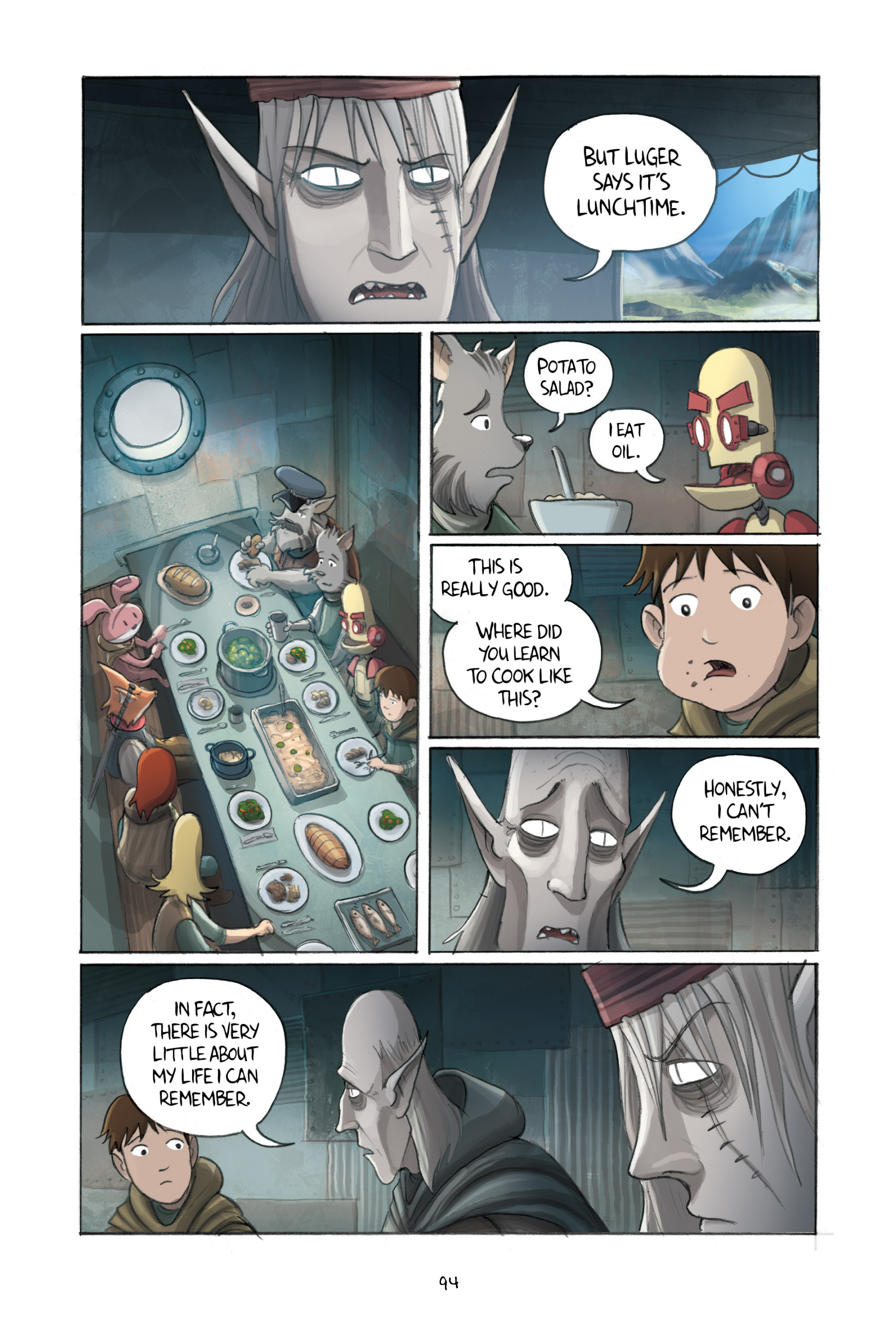 Read online Amulet comic -  Issue #3 - 92
