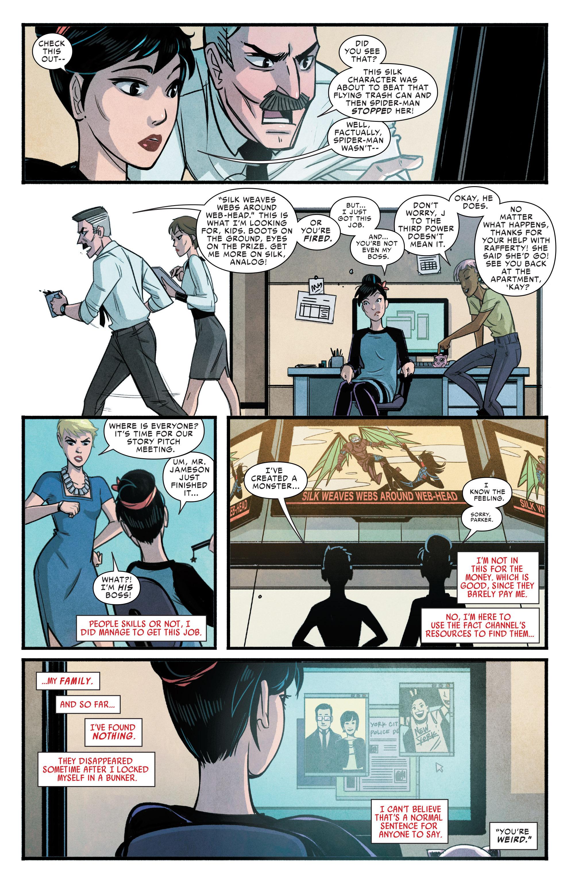 Read online Silk (2015) comic -  Issue #1 - 10