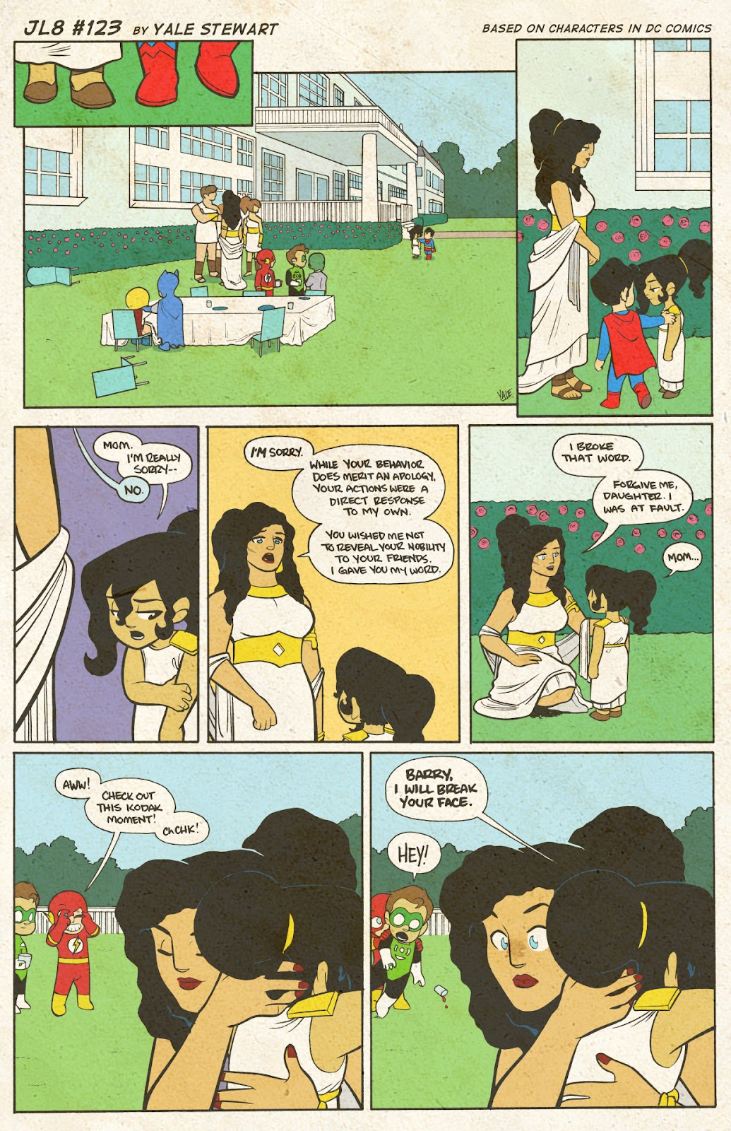 Read online JL8 – The Complete Collection comic -  Issue # TPB (Part 1) - 65