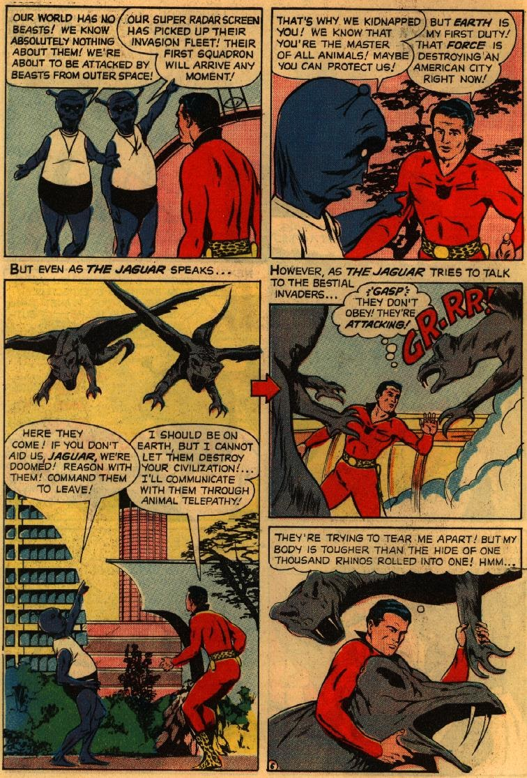 Adventures of the Jaguar issue 3 - Page 8