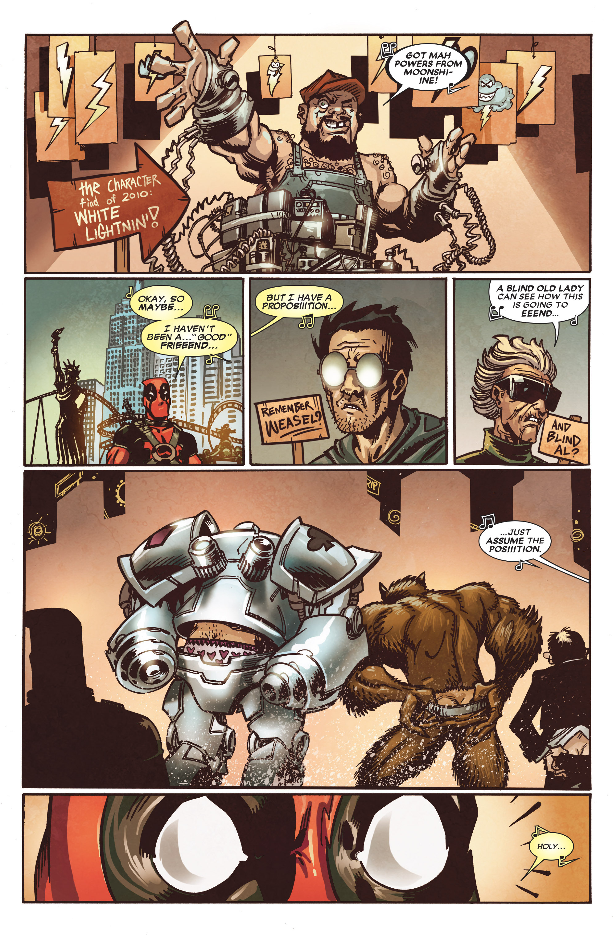 Read online True Believers: Deadpool the Musical comic -  Issue # Full - 17