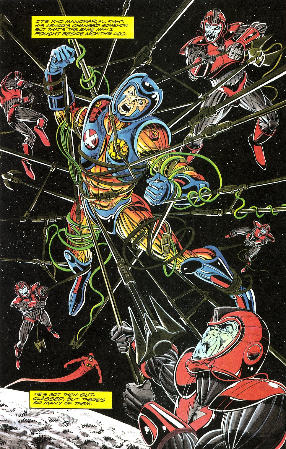 Read online Solar, Man of the Atom comic -  Issue #17 - 12