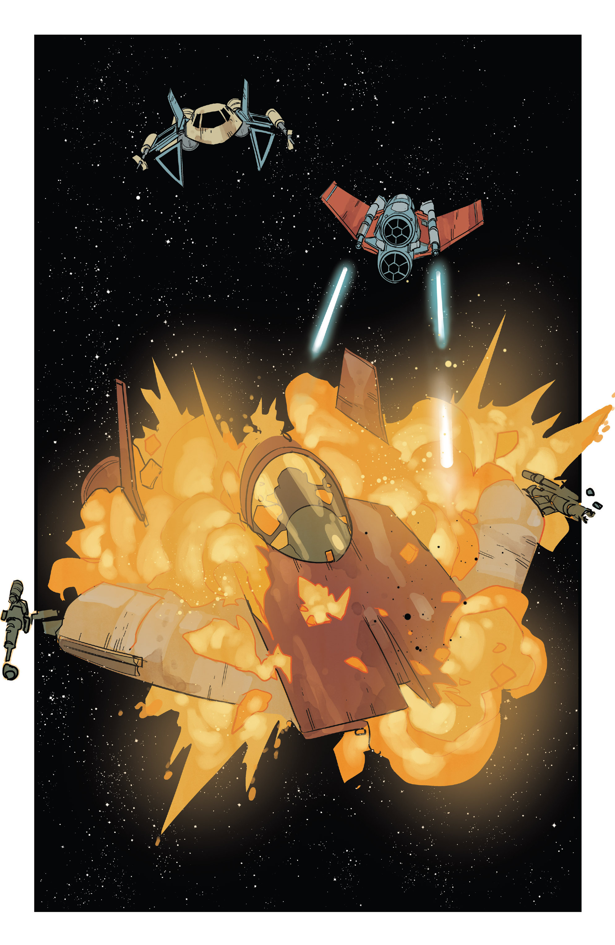 Read online Star Wars: Poe Dameron comic -  Issue #13 - 14