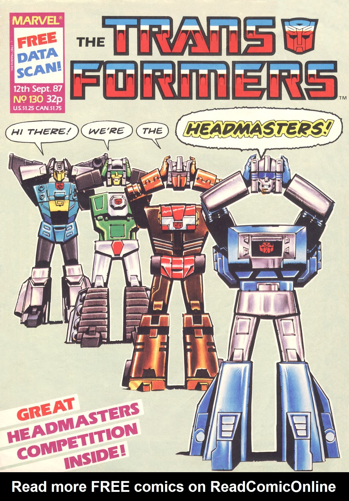 The Transformers (UK) 130 Page 1