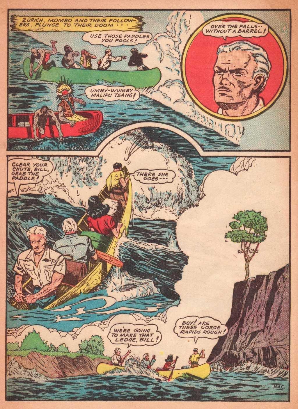 Read online Super-Magician Comics comic -  Issue #2 - 37
