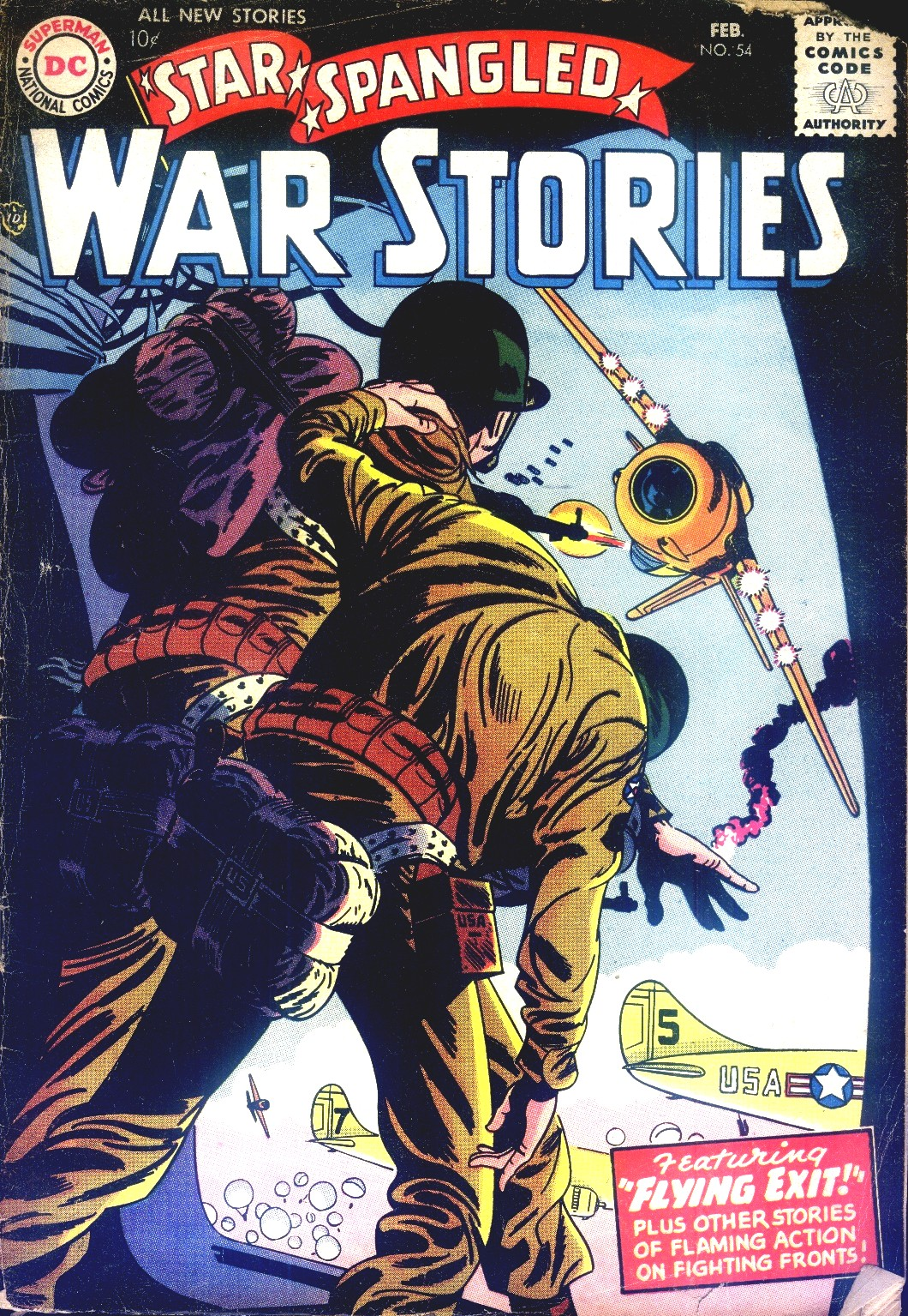 Star Spangled War Stories (1952) issue 54 - Page 1
