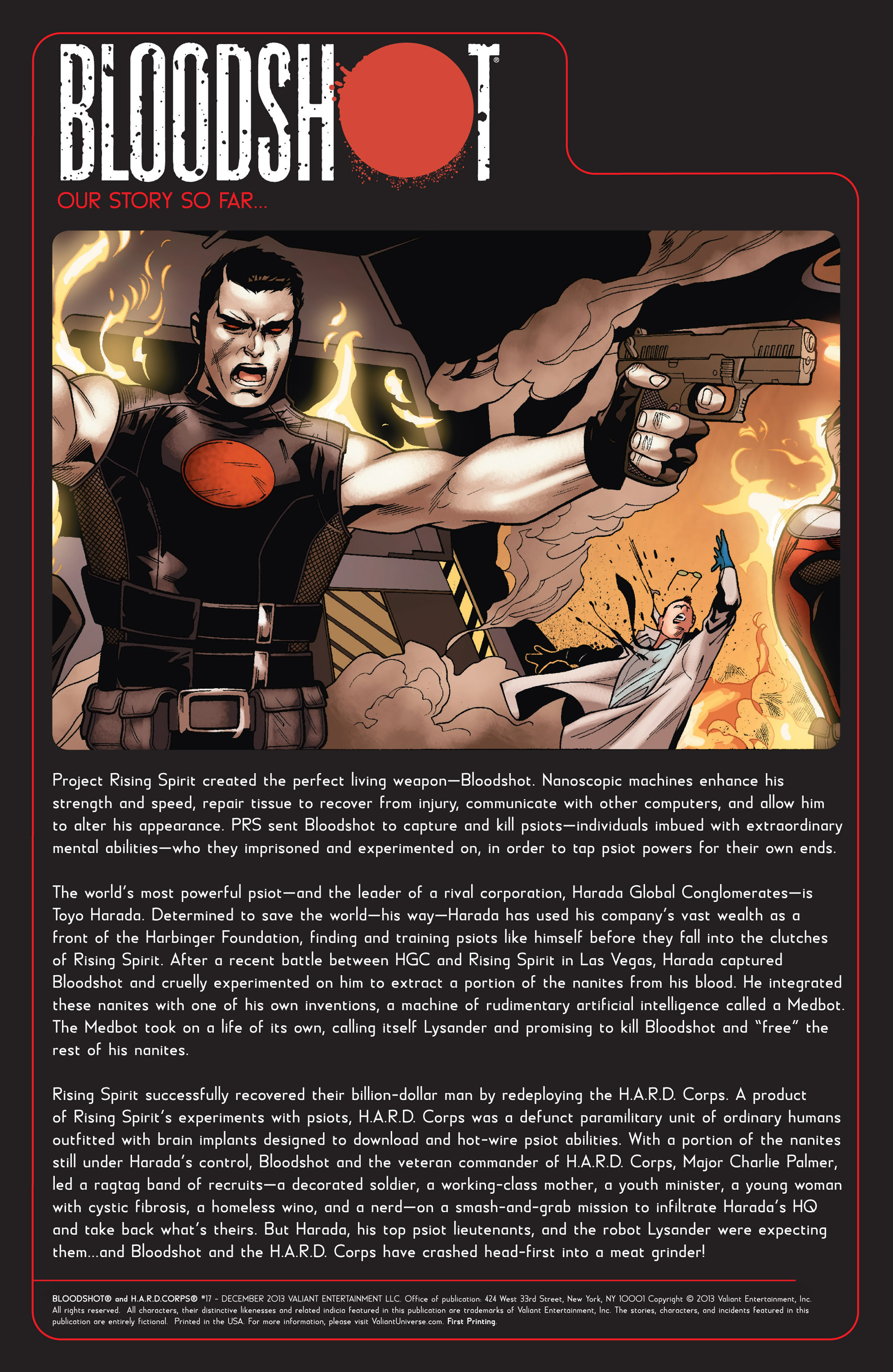 Read online Bloodshot and H.A.R.D.Corps comic -  Issue #17 - 2