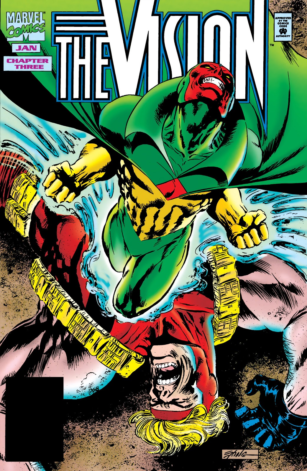 Read online The Vision comic -  Issue #3 - 1