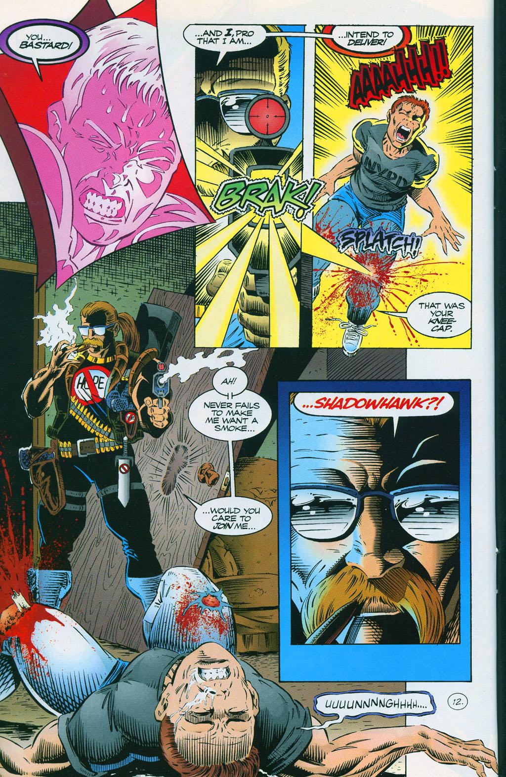 Read online ShadowHawk comic -  Issue #7 - 17