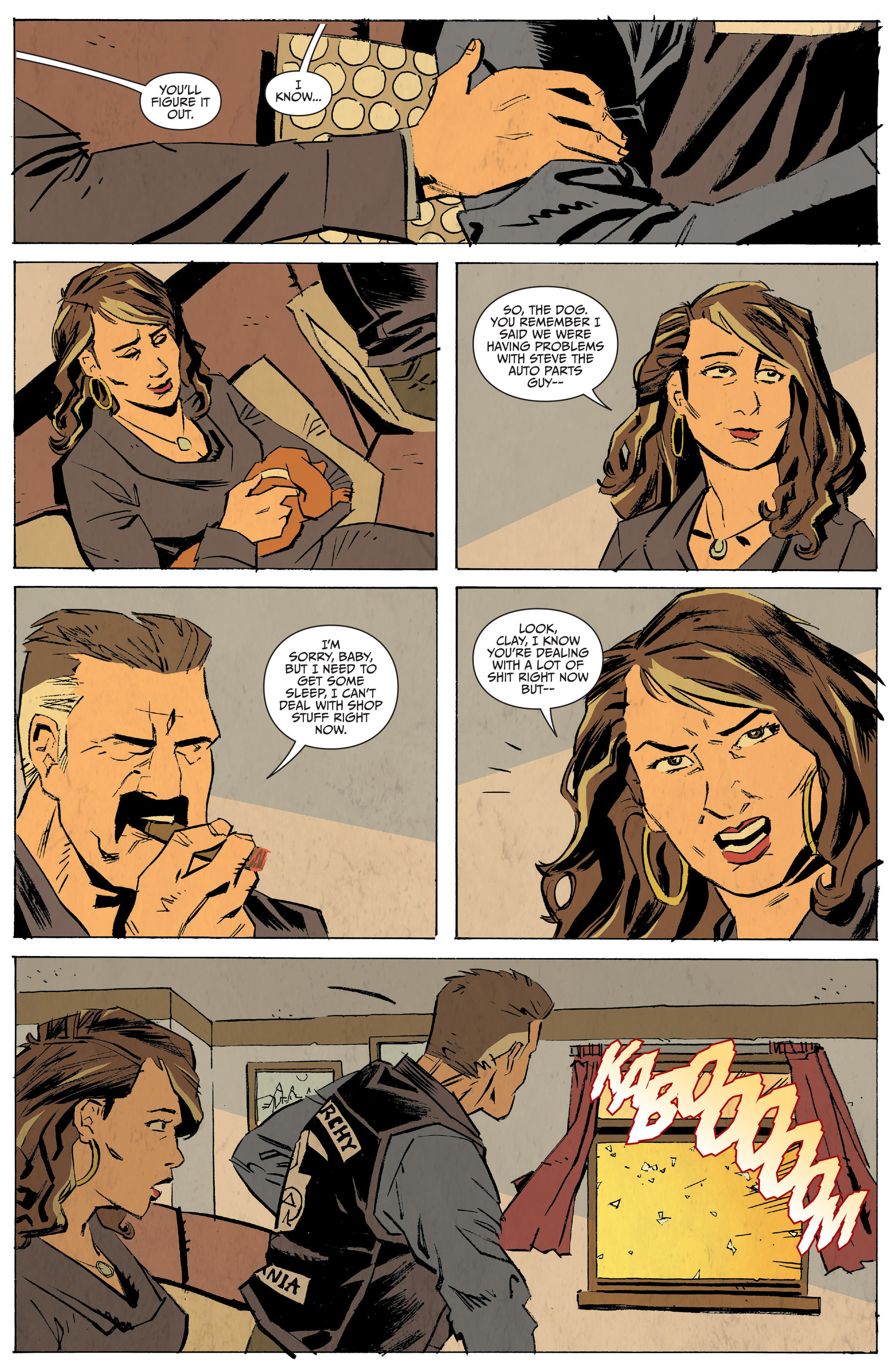 Read online Sons of Anarchy: Redwood Original comic -  Issue #5 - 21