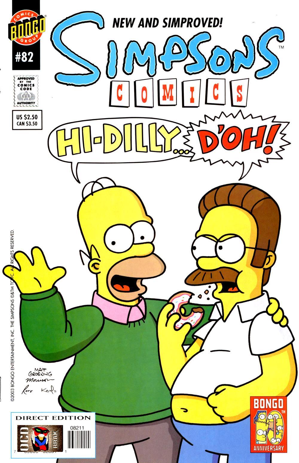 Read online Simpsons Comics comic -  Issue #82 - 1