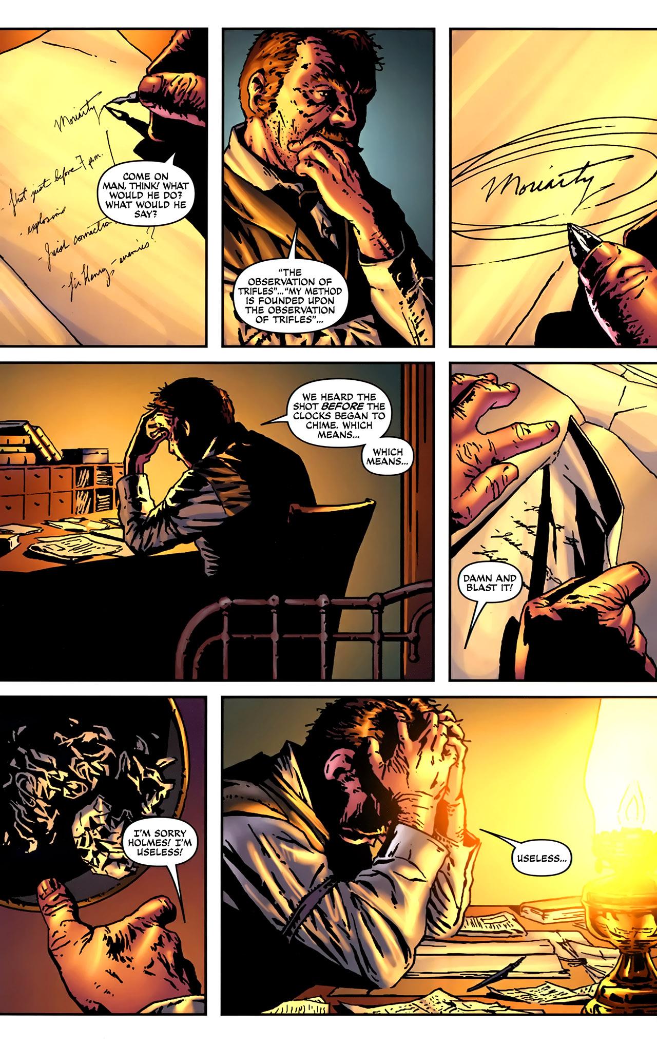 Read online Sherlock Holmes (2009) comic -  Issue #2 - 13