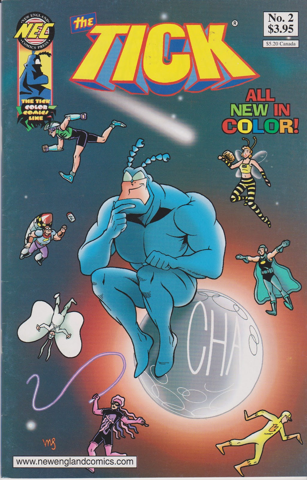 The Tick Color 2 Page 1
