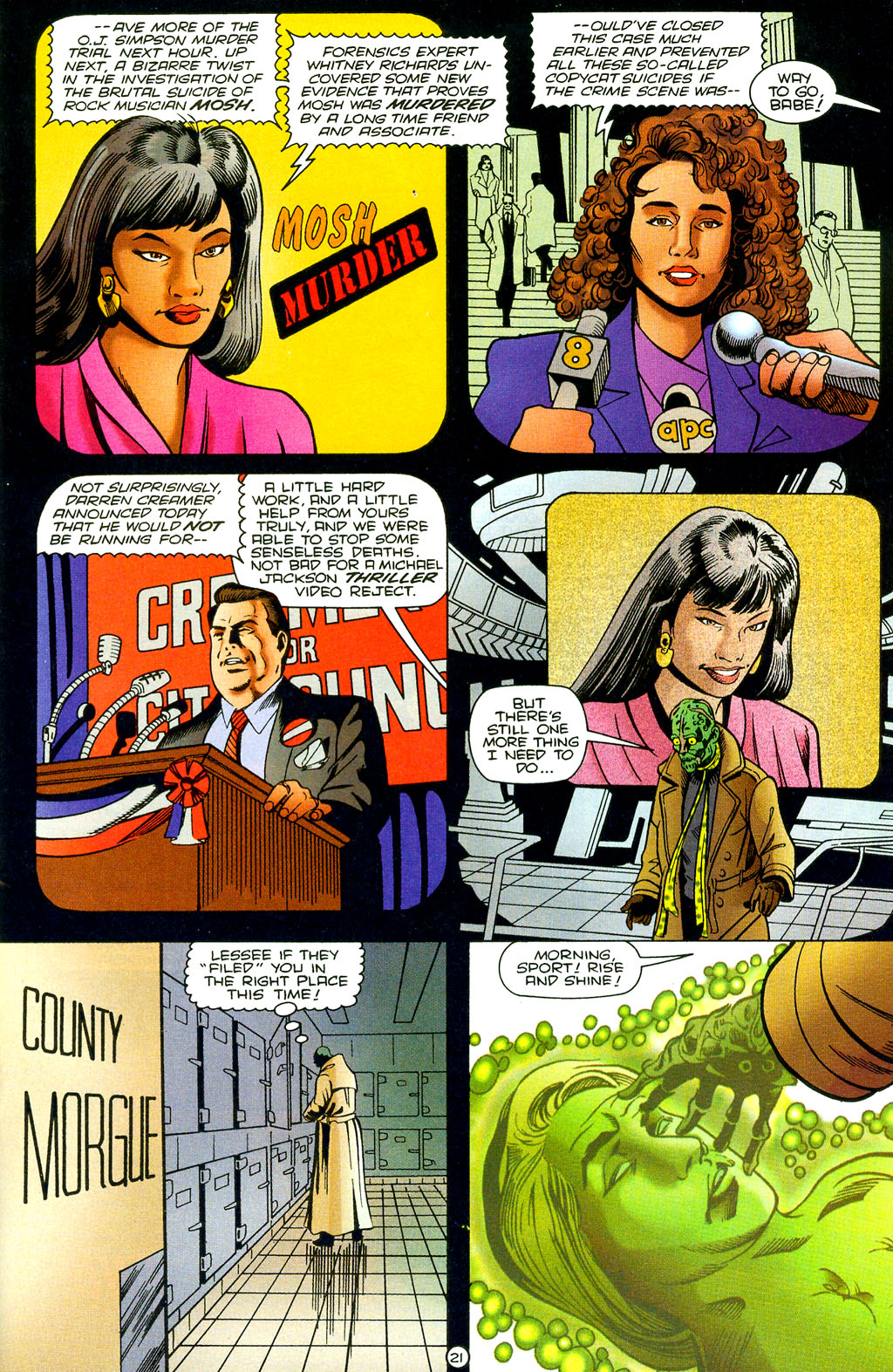 Read online UltraForce (1994) comic -  Issue #7 - 22