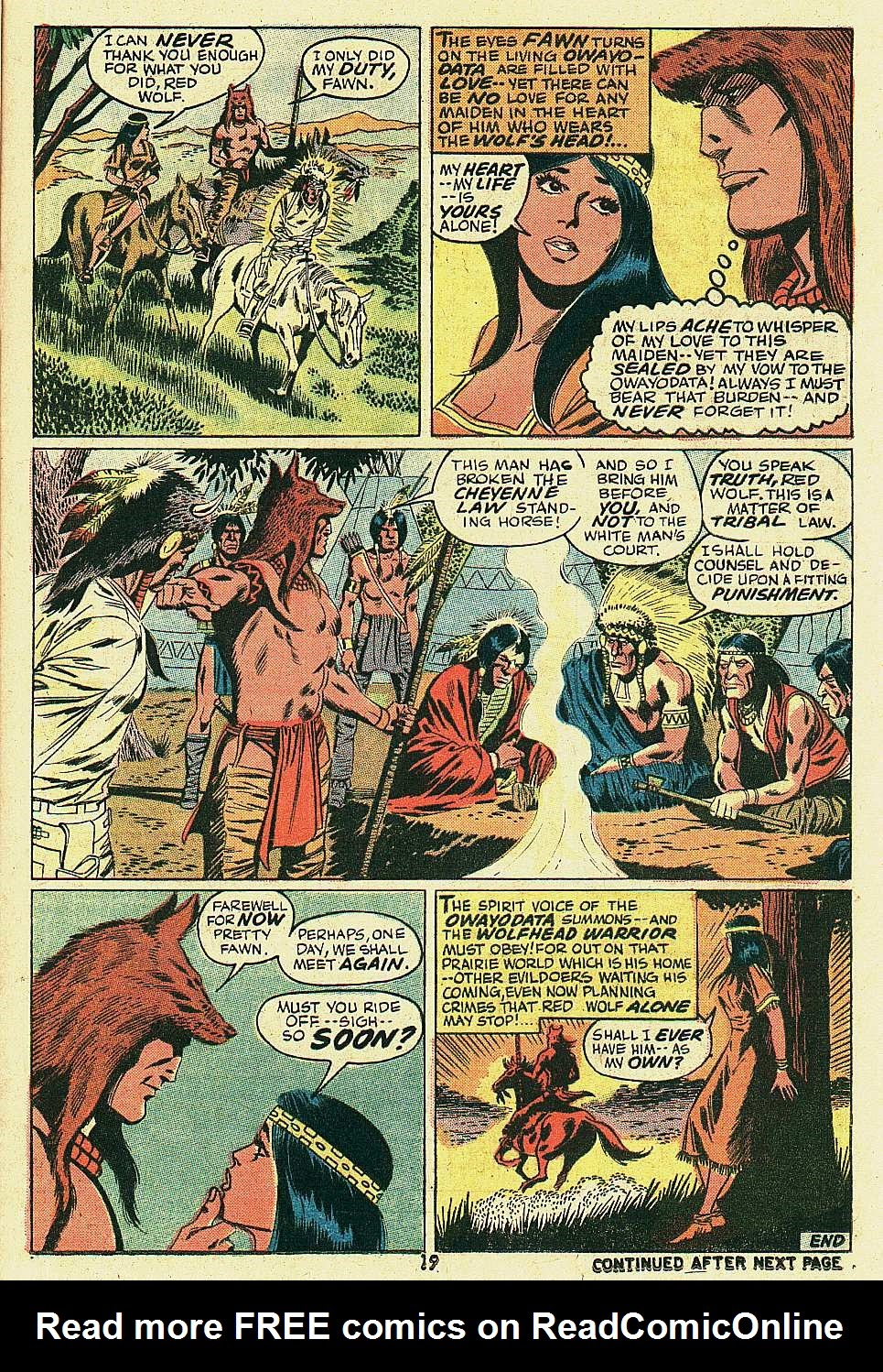 Red Wolf (1972) issue 6 - Page 15