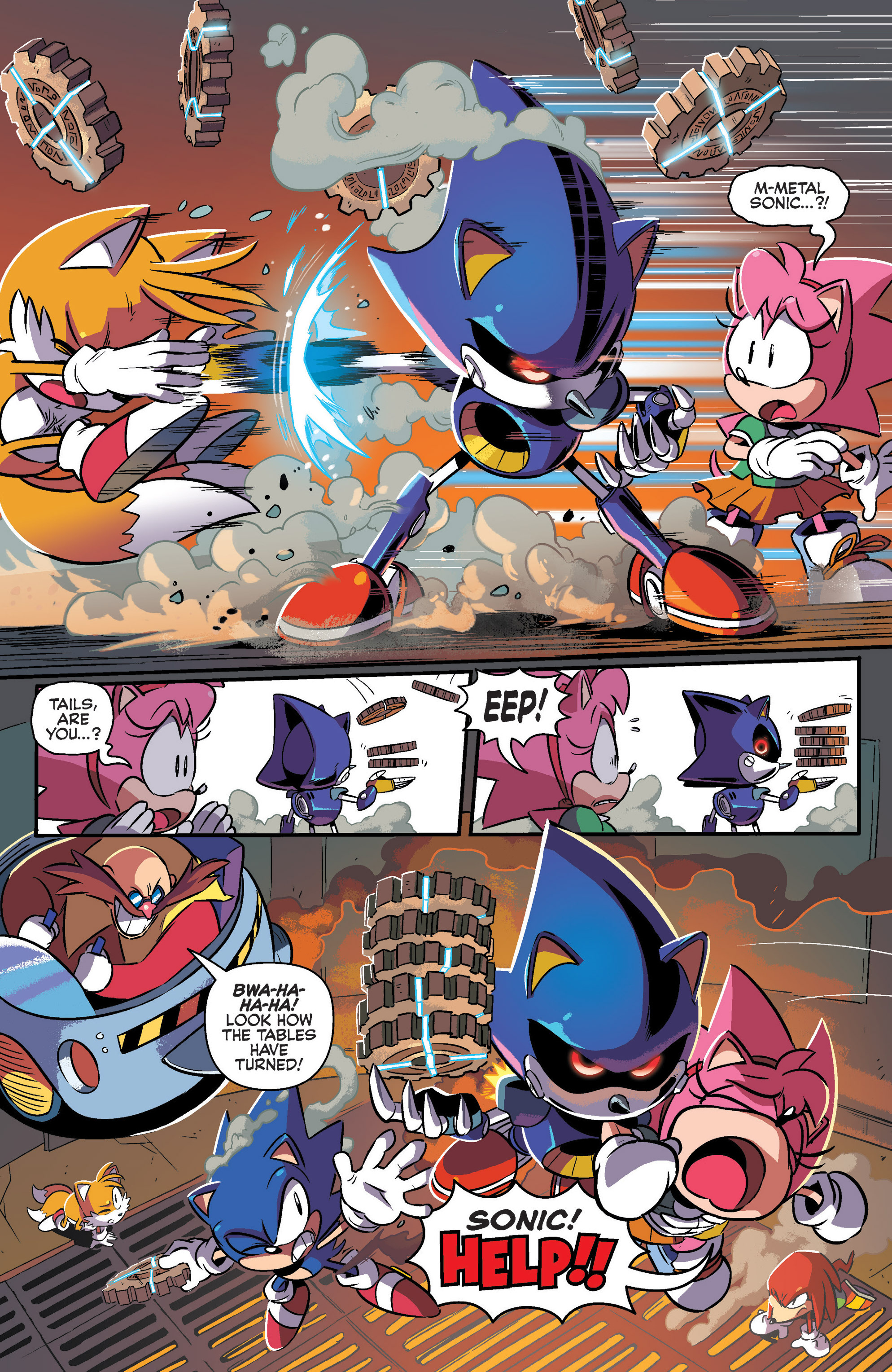Read online Sonic: Mega Drive - The Next Level comic -  Issue # Full - 22