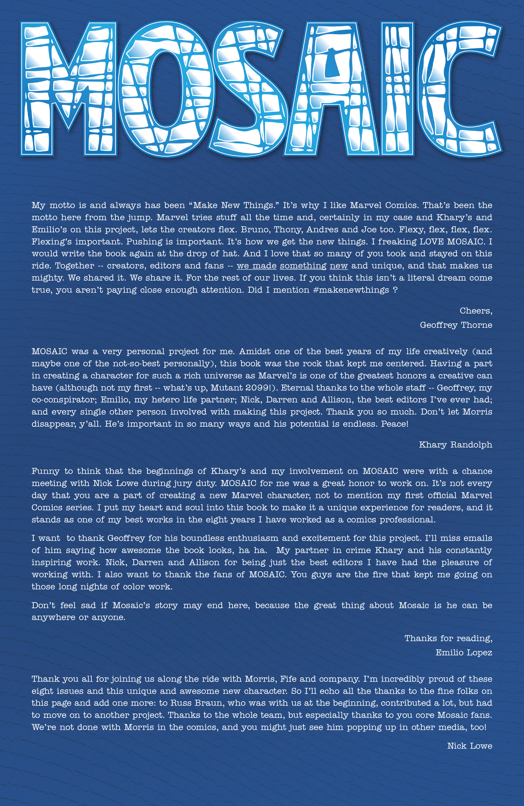 Read online Mosaic comic -  Issue #8 - 23