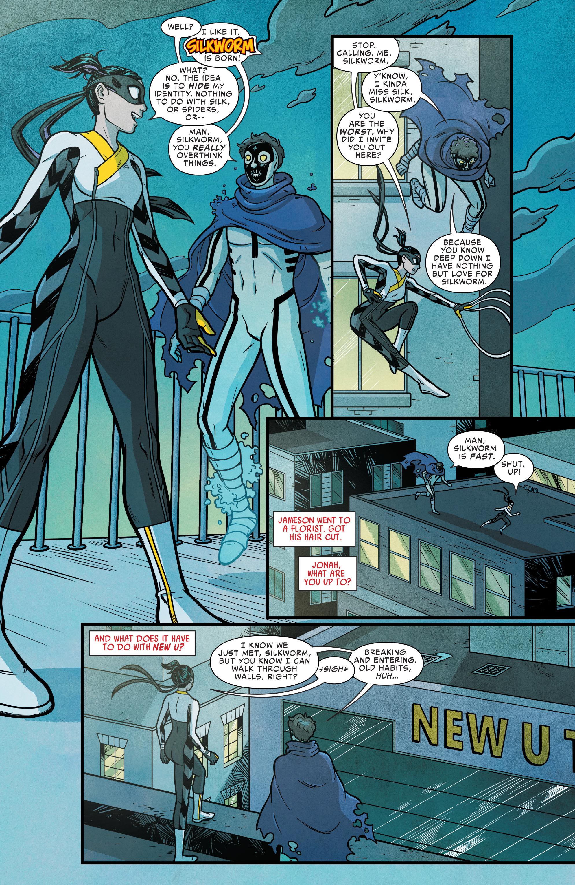 Read online Silk (2016) comic -  Issue #14 - 16