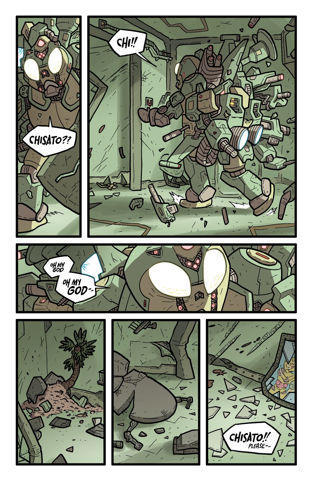 Read online Kaijumax: Season Four comic -  Issue #5 - 21
