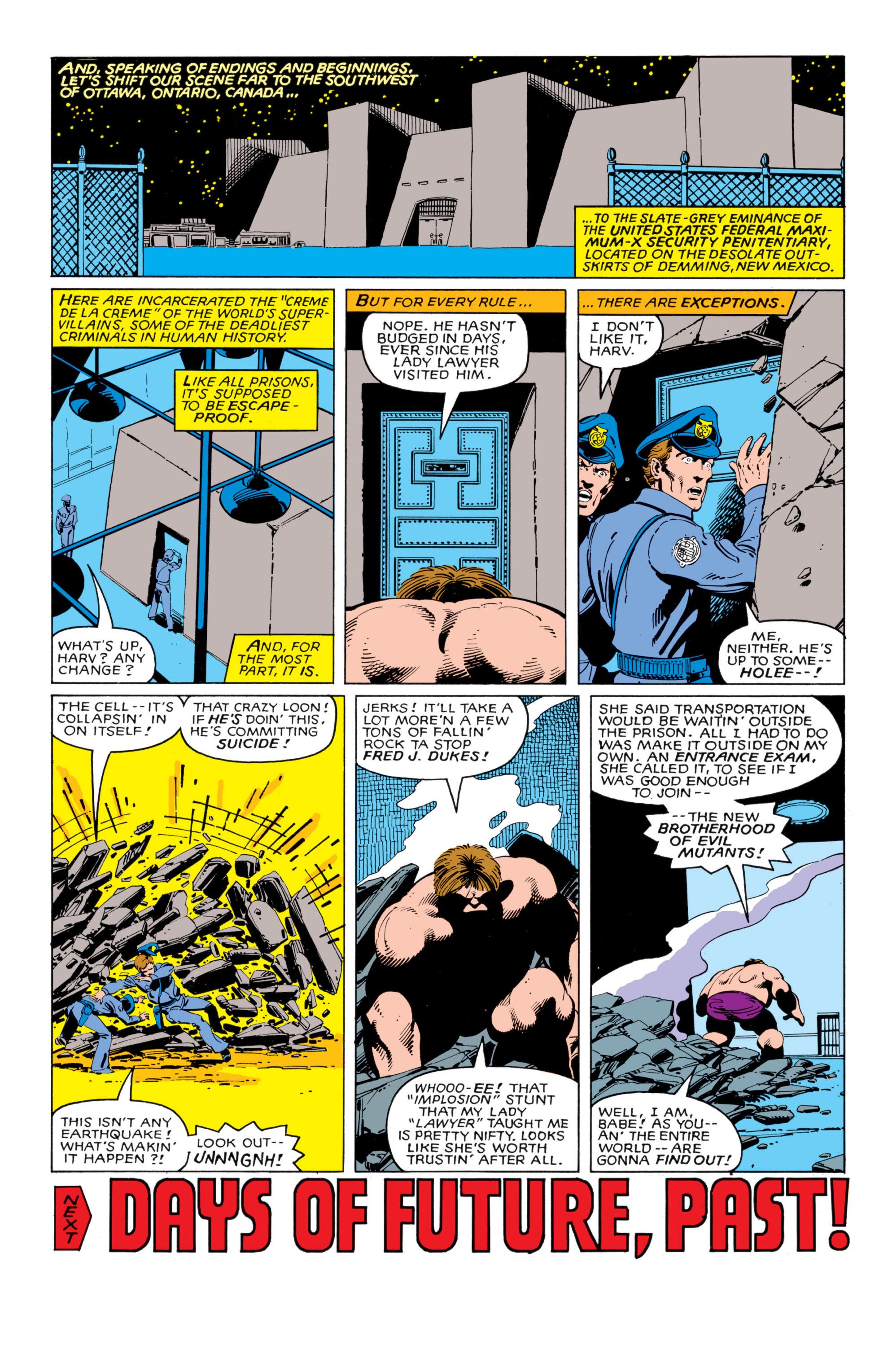 Read online Uncanny X-Men (1963) comic -  Issue #140 - 23