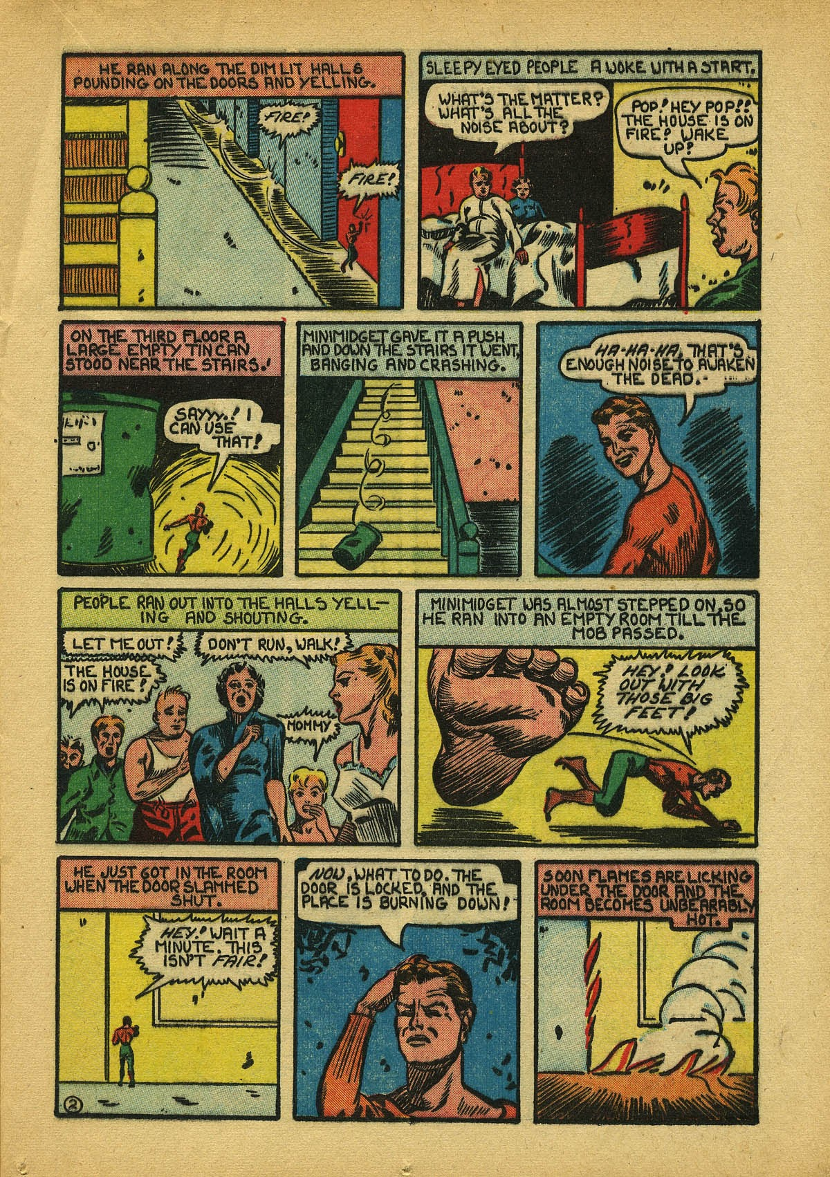 Read online Amazing Man Comics comic -  Issue #22 - 26