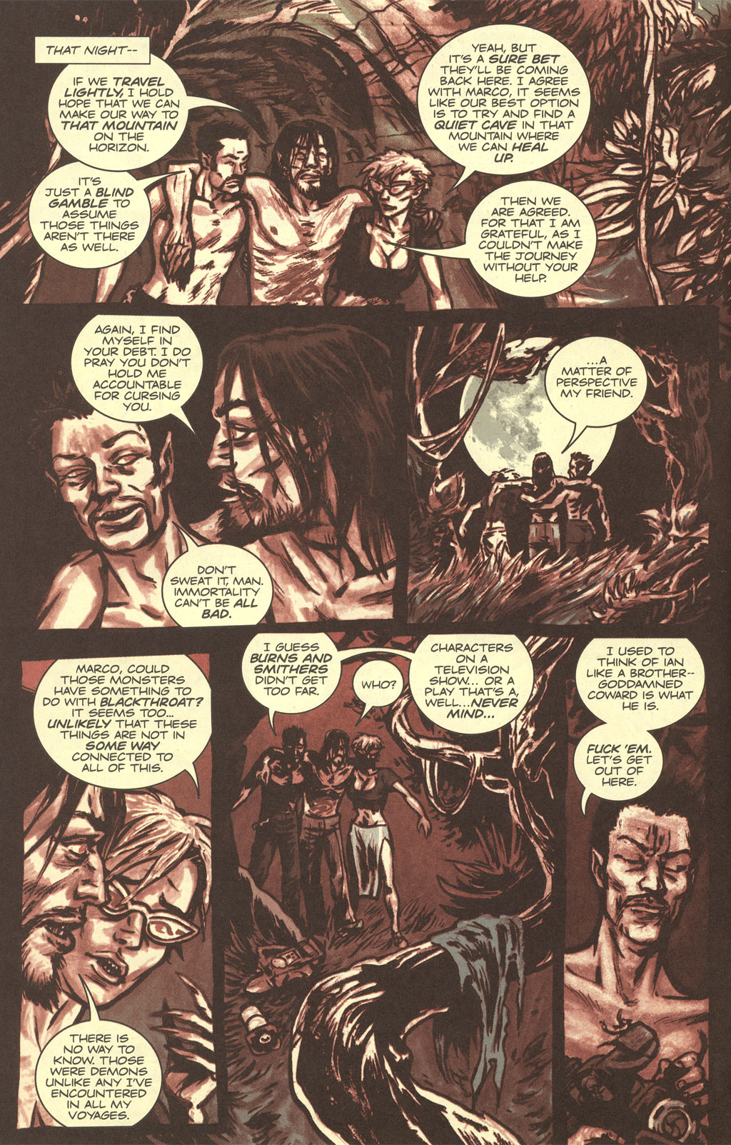 Read online Sea of Red comic -  Issue #4 - 16