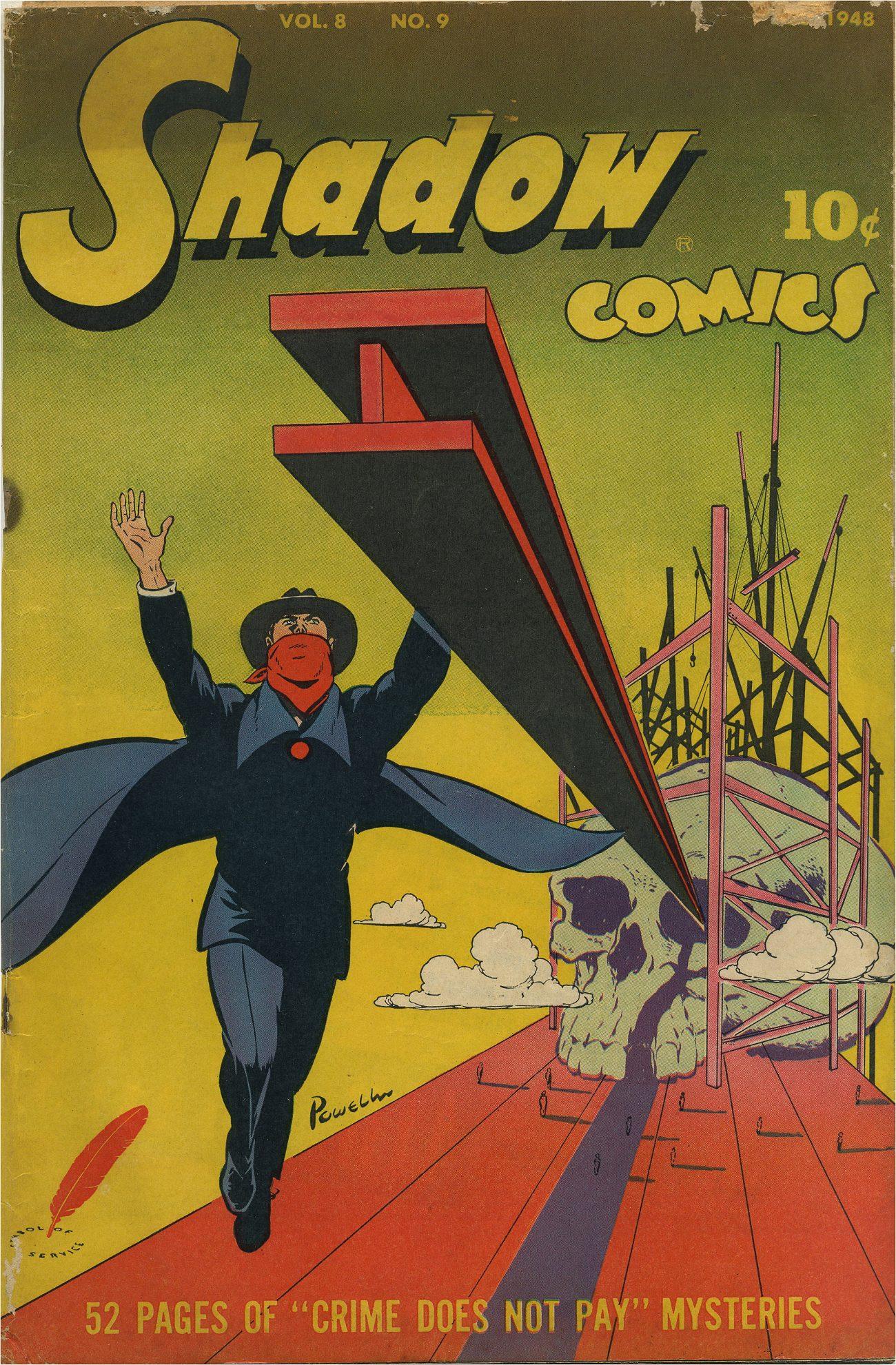 Read online Shadow Comics comic -  Issue #93 - 2