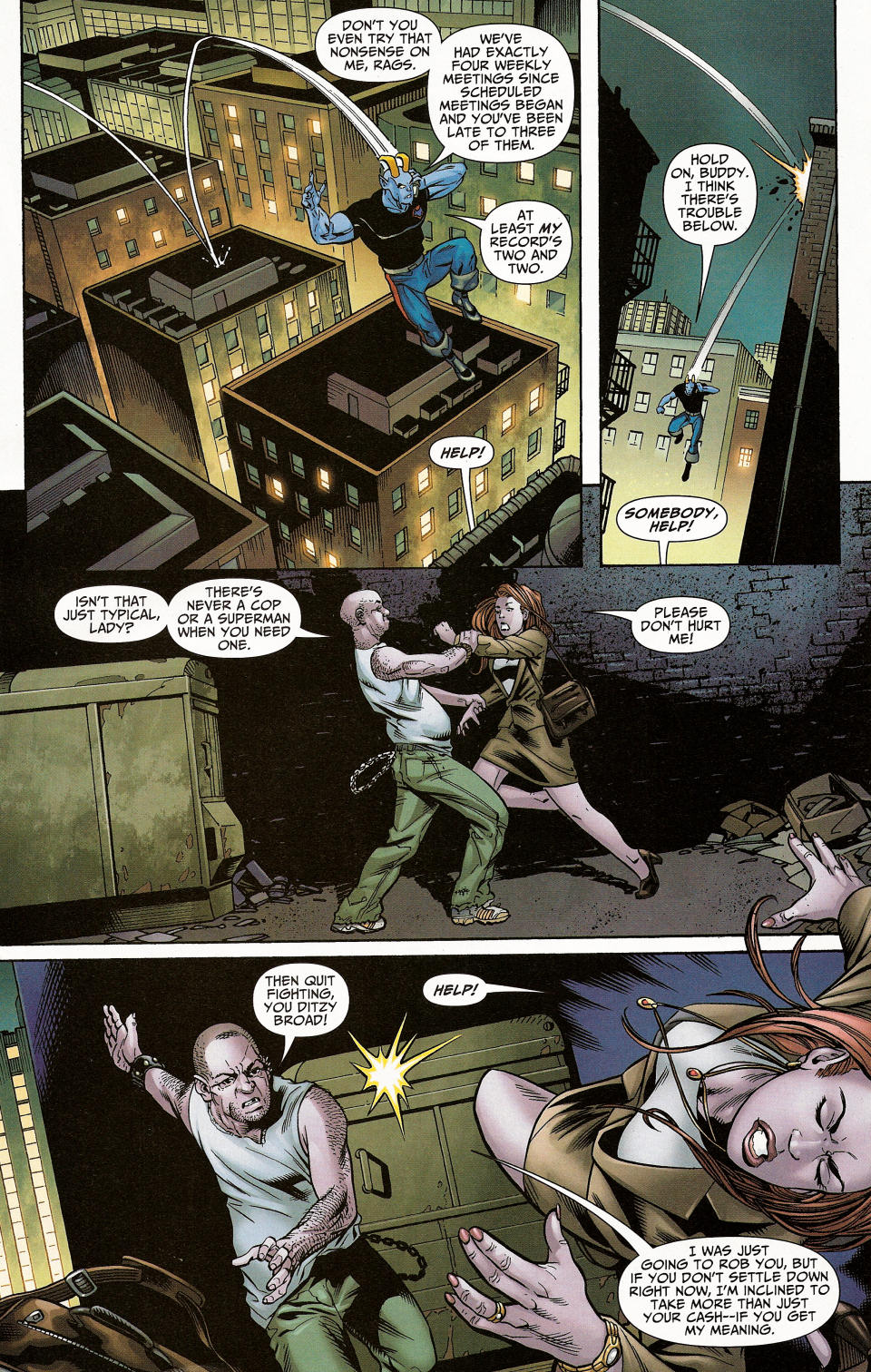 Read online Shadowpact comic -  Issue #4 - 14