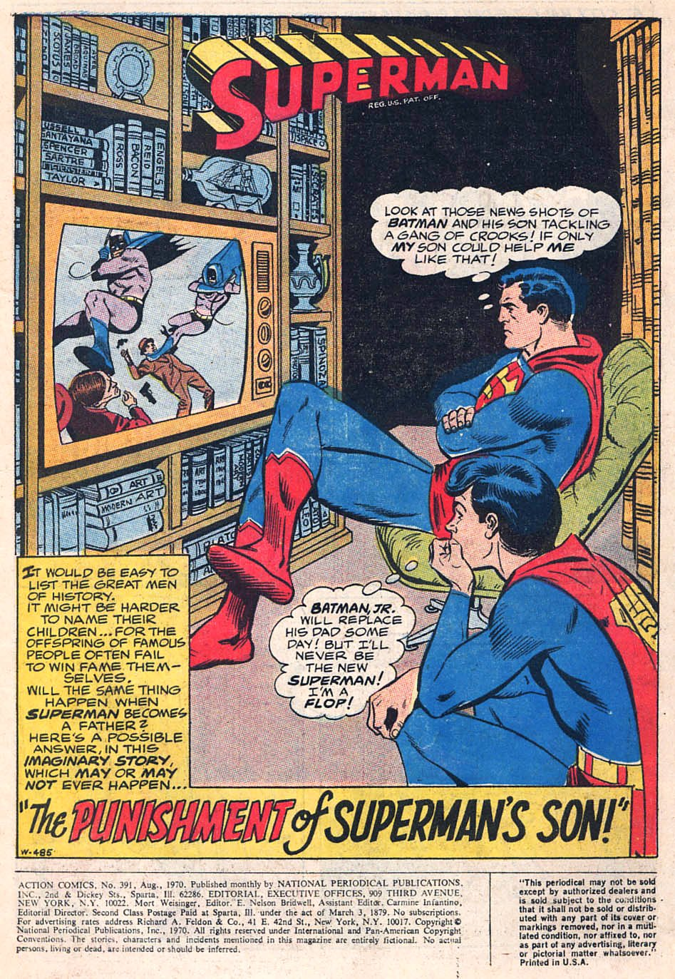 Read online Action Comics (1938) comic -  Issue #391 - 3
