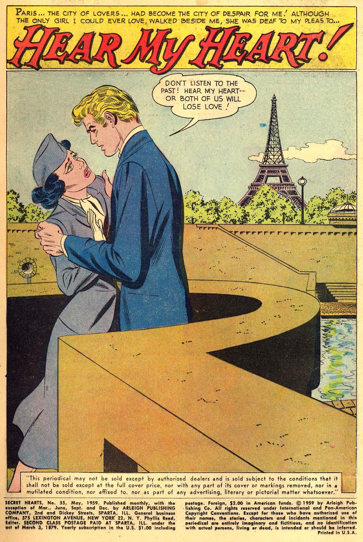 Read online Secret Hearts comic -  Issue #55 - 3