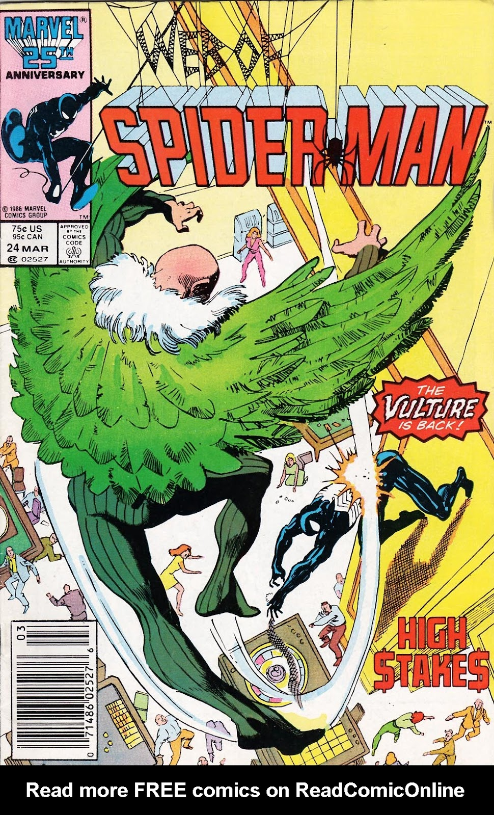 Web of Spider-Man (1985) Issue #24 #34 - English 1