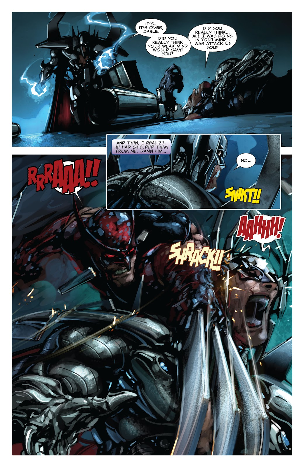 Read online X-Force/Cable: Messiah War comic -  Issue # _TPB (Part 2) - 85