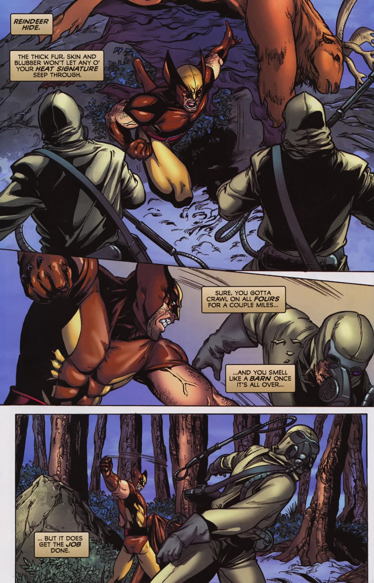 Read online Wolverine: First Class comic -  Issue #7 - 3