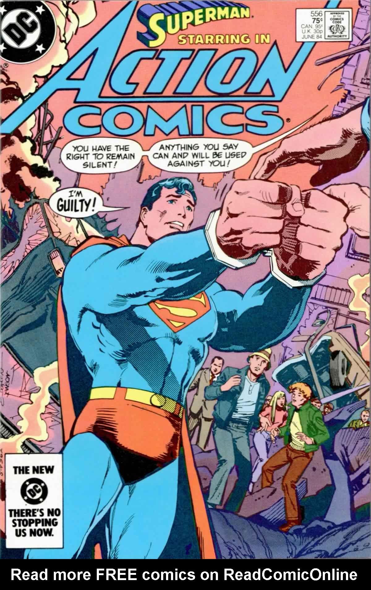 Action Comics (1938) 556 Page 1