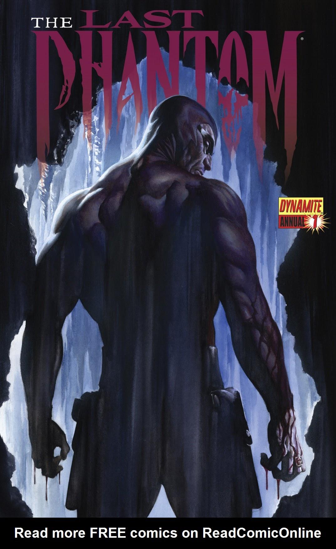 The Last Phantom Annual_1 Page 1
