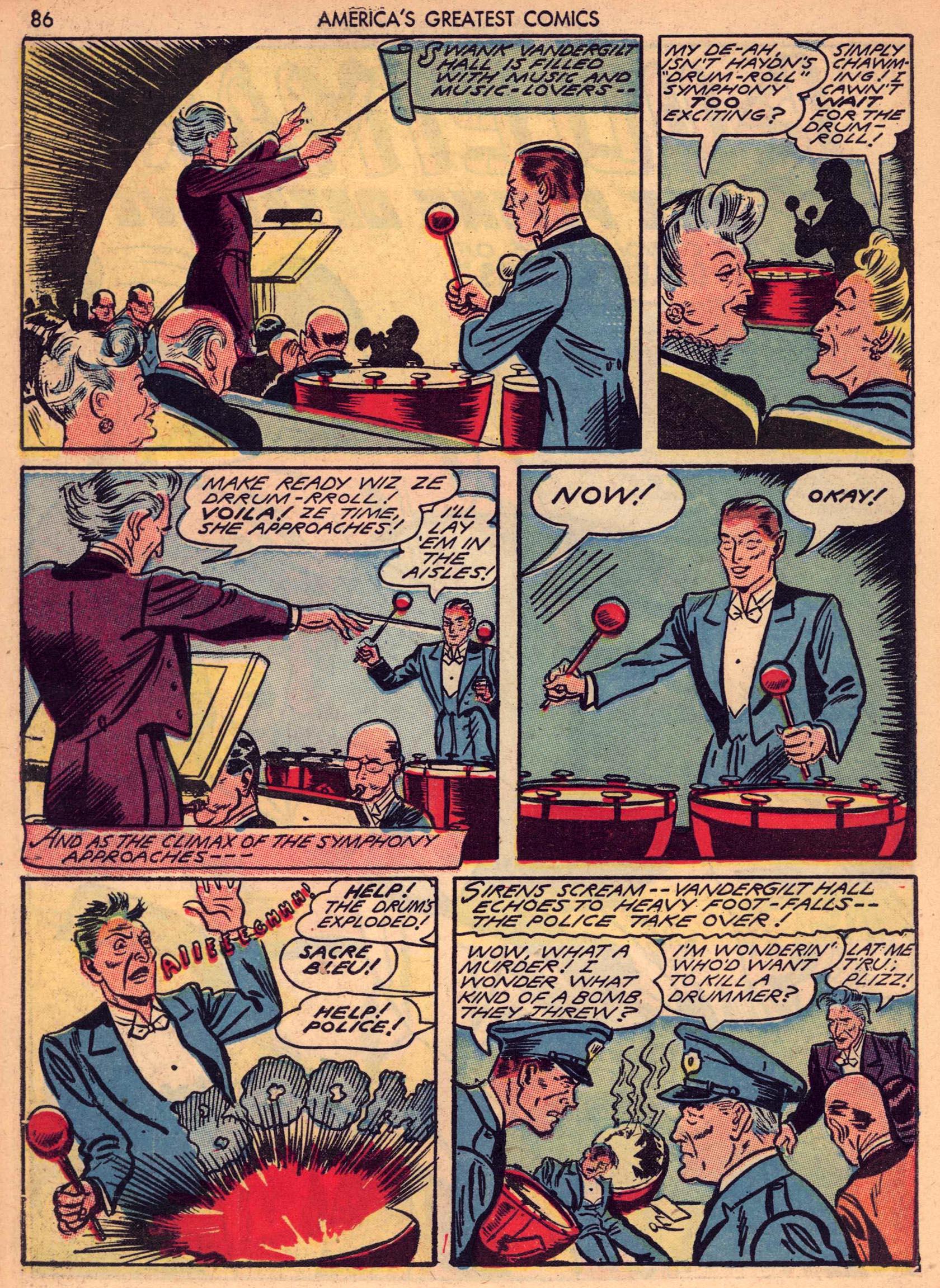 Read online America's Greatest Comics comic -  Issue #7 - 85