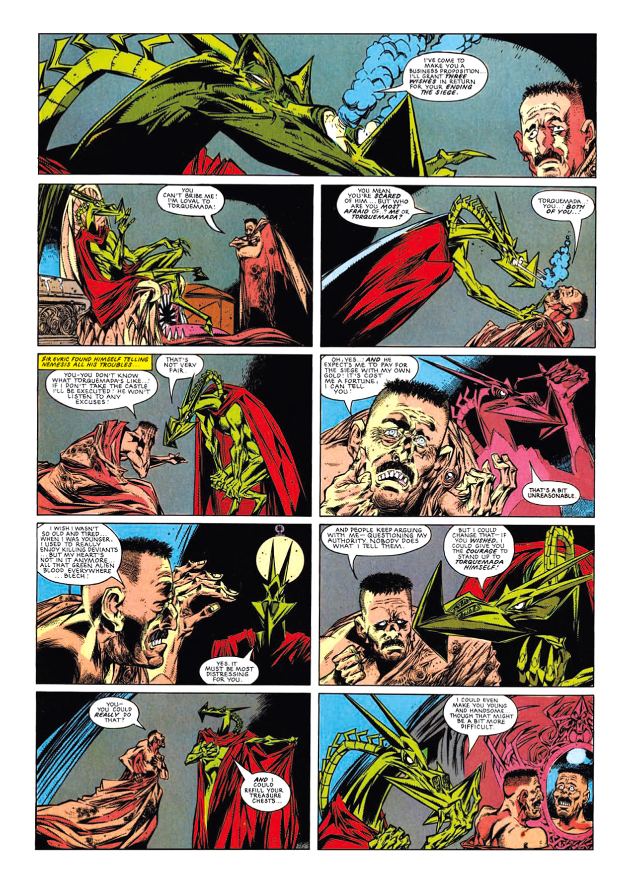 Read online Nemesis The Warlock comic -  Issue # TPB Deviant Edition - 202