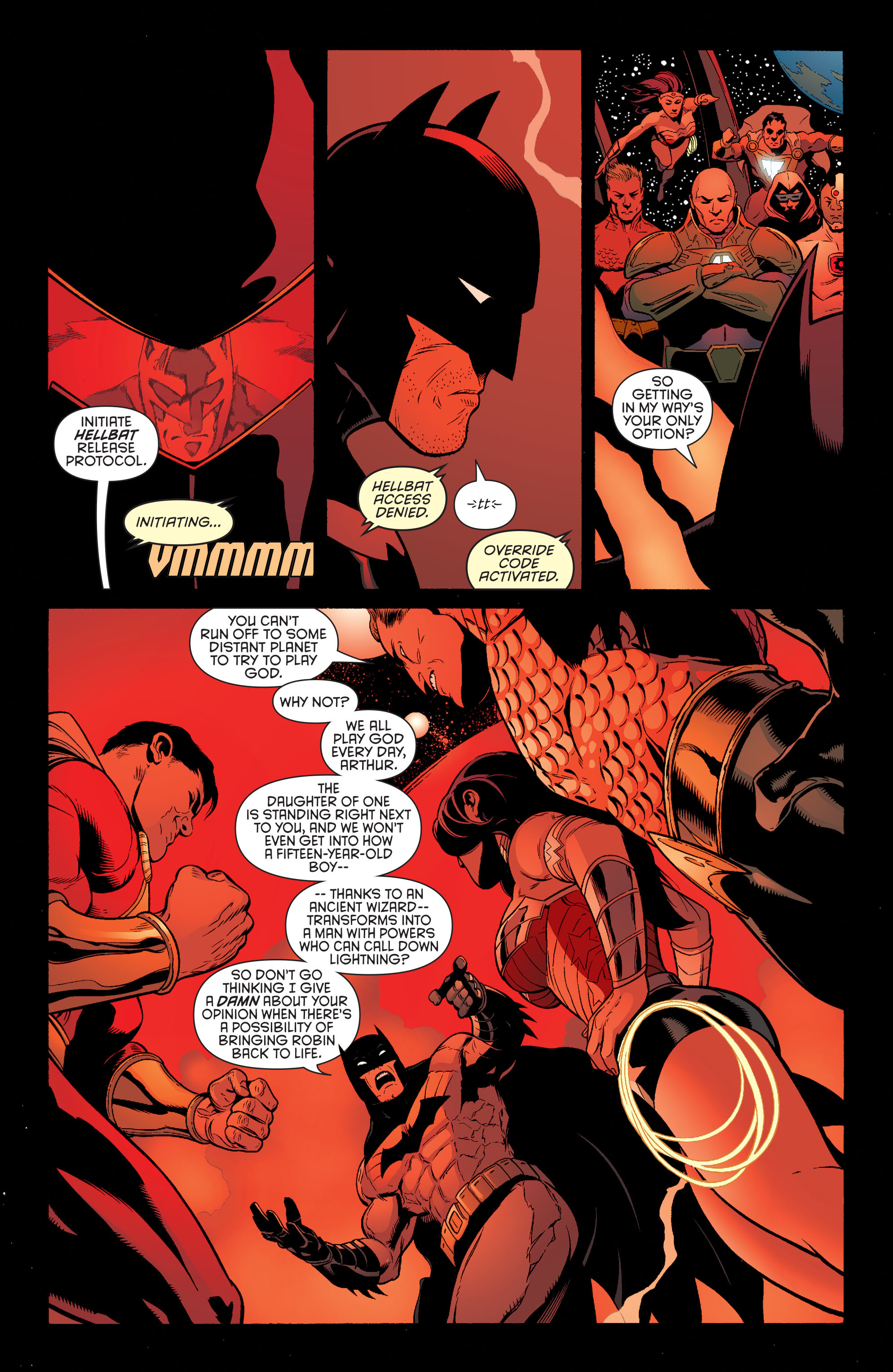 Read online Batman and Robin (2011) comic -  Issue #33 - 8