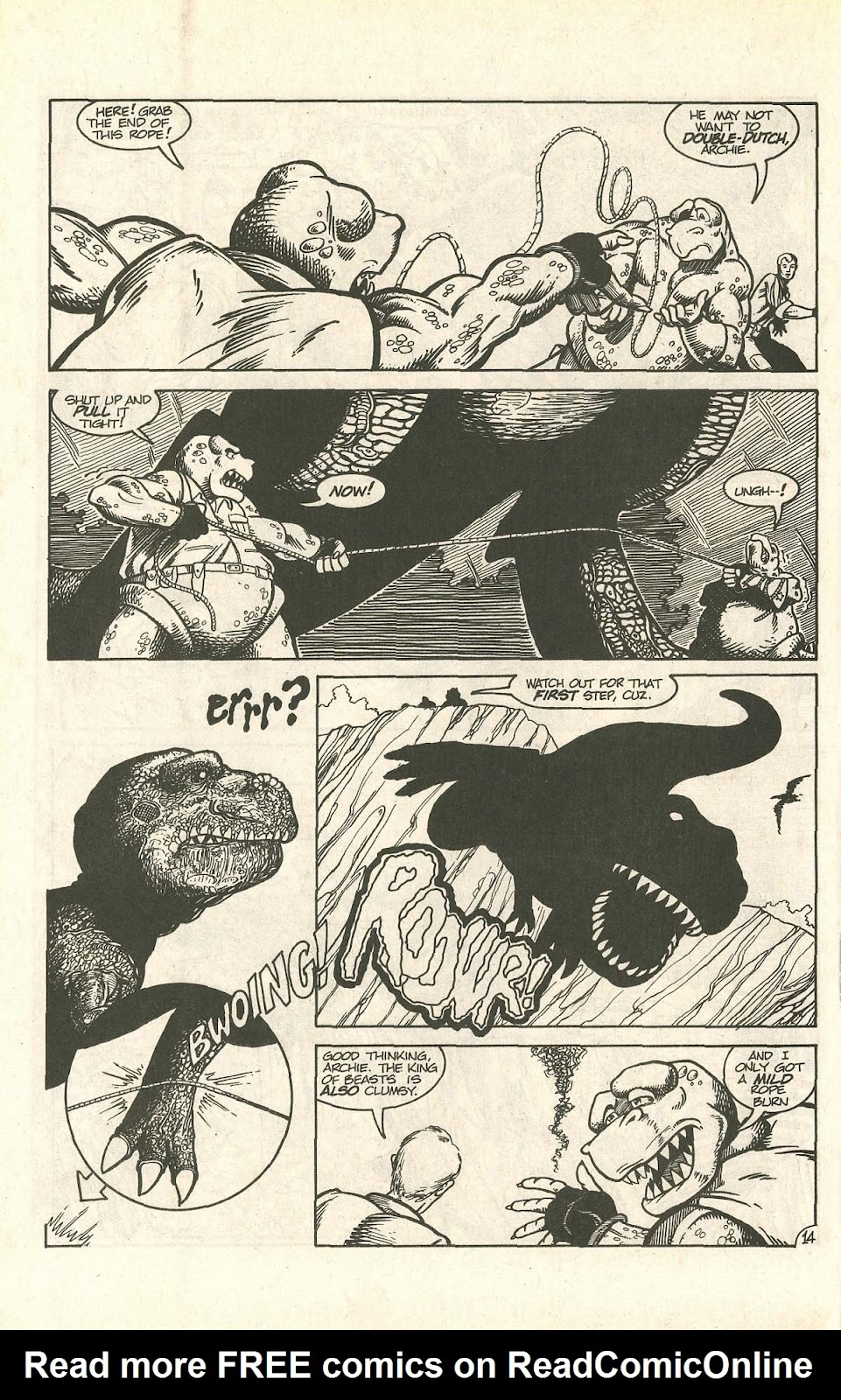 Dinosaurs For Hire (1988) issue 9 - Page 18