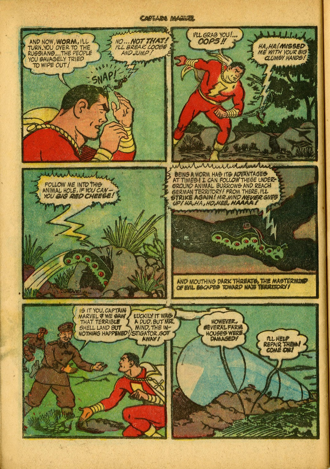 Captain Marvel Adventures issue 34 - Page 52