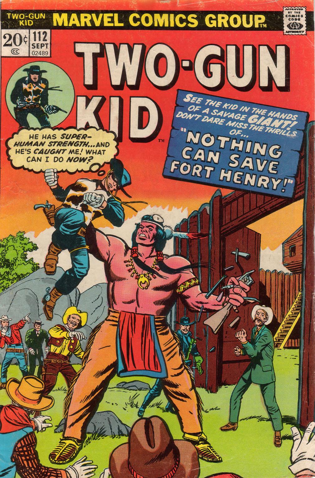 Read online Two-Gun Kid comic -  Issue #112 - 1